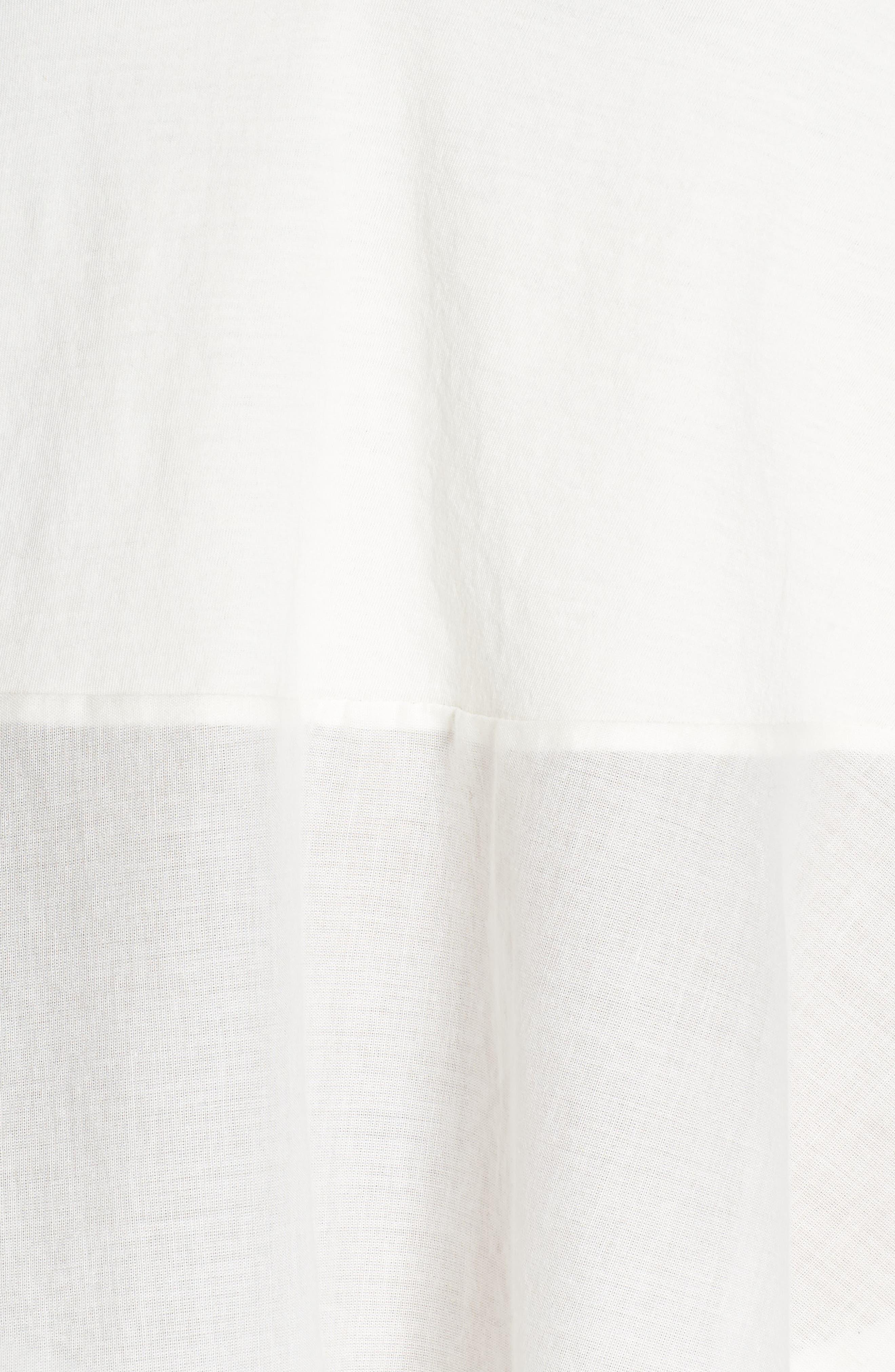 Bella Pima Cotton Voile Sleep Camisole,                             Alternate thumbnail 6, color,                             Gardenia