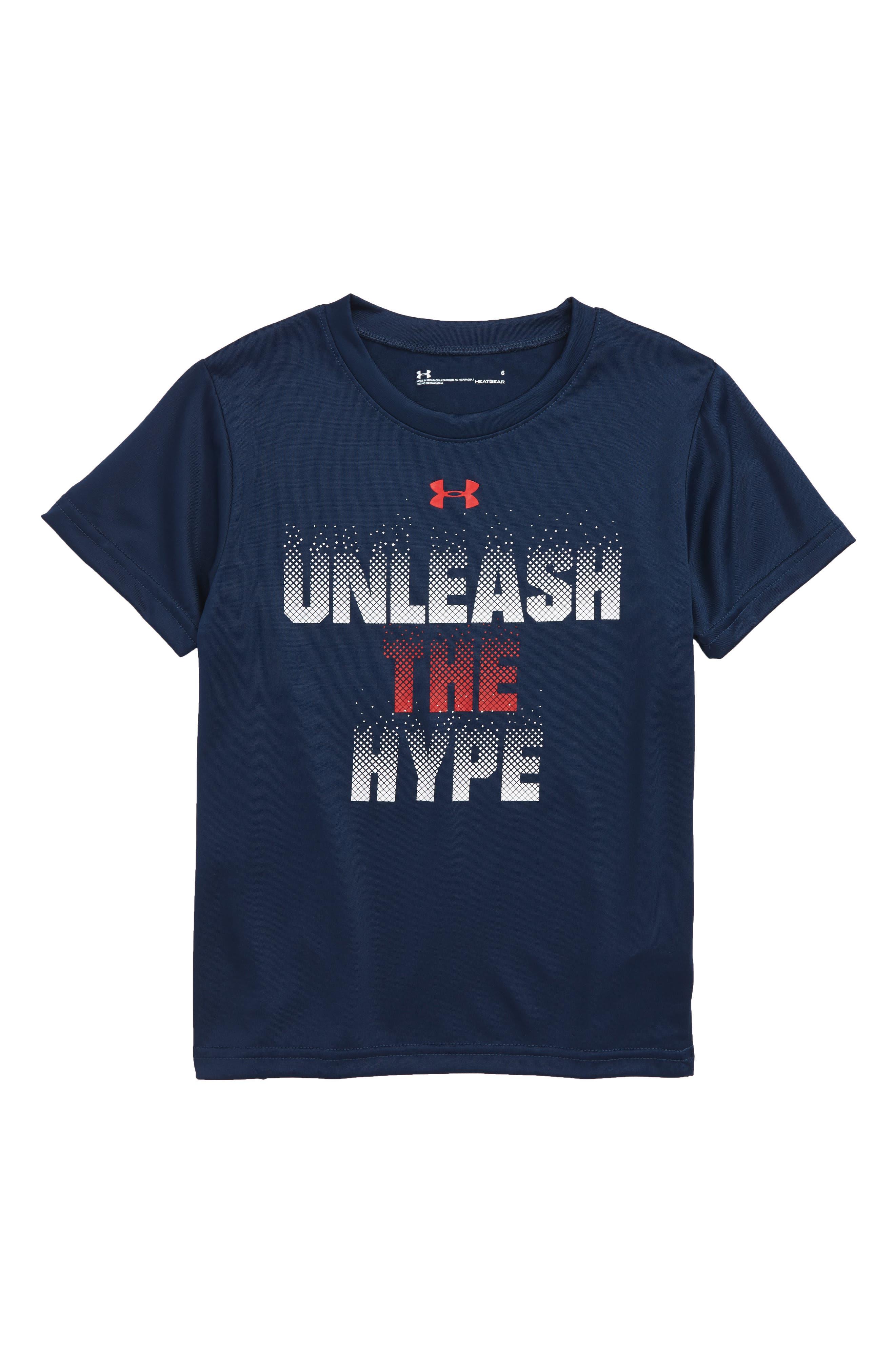 Under Armour Unleash the Hyper Graphic HeatGear® Shirt (Toddler Boys & Big  Boys)