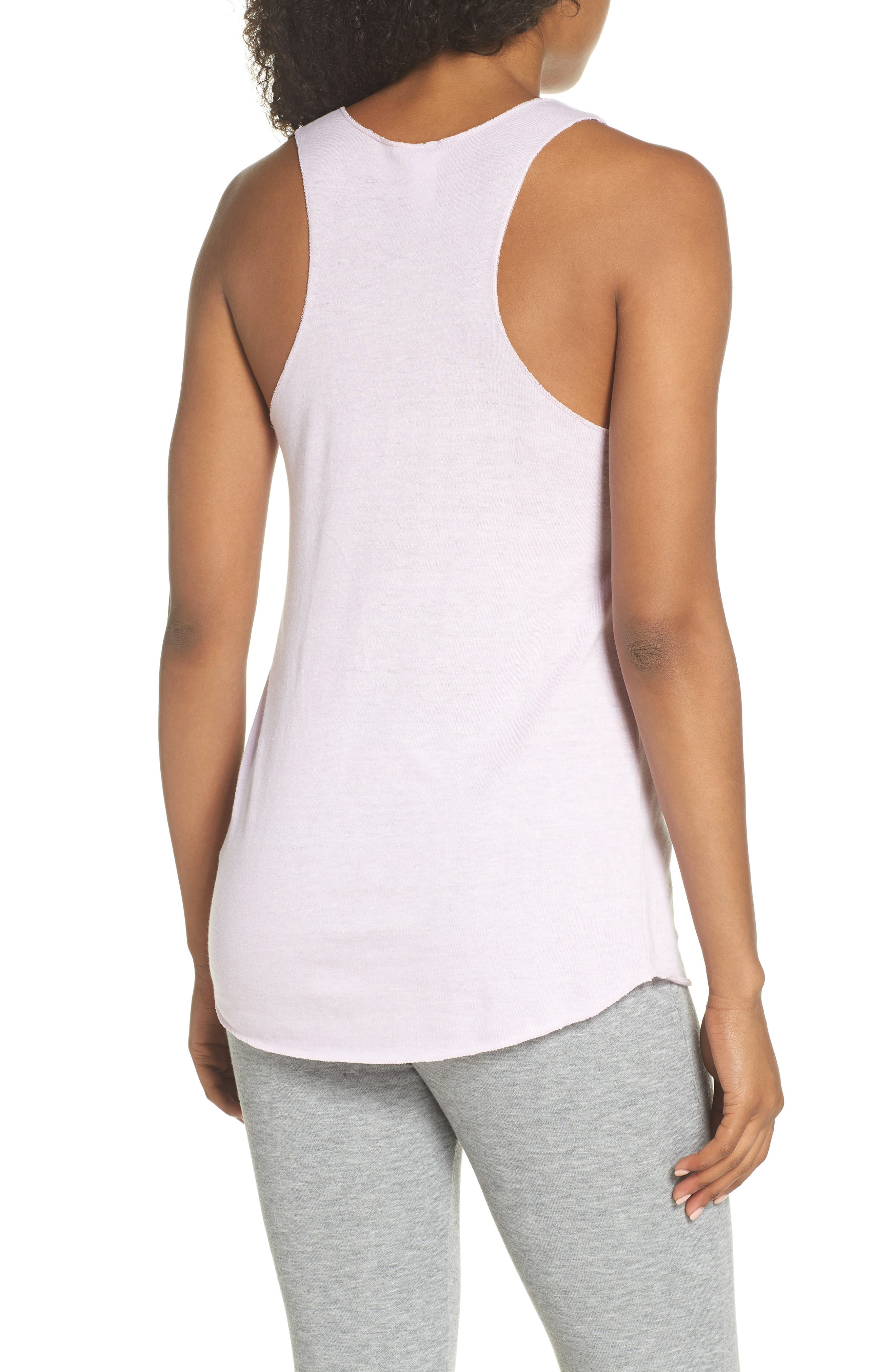 Meegs Racerback Tank,                             Alternate thumbnail 2, color,                             Eco Lilac Orchid