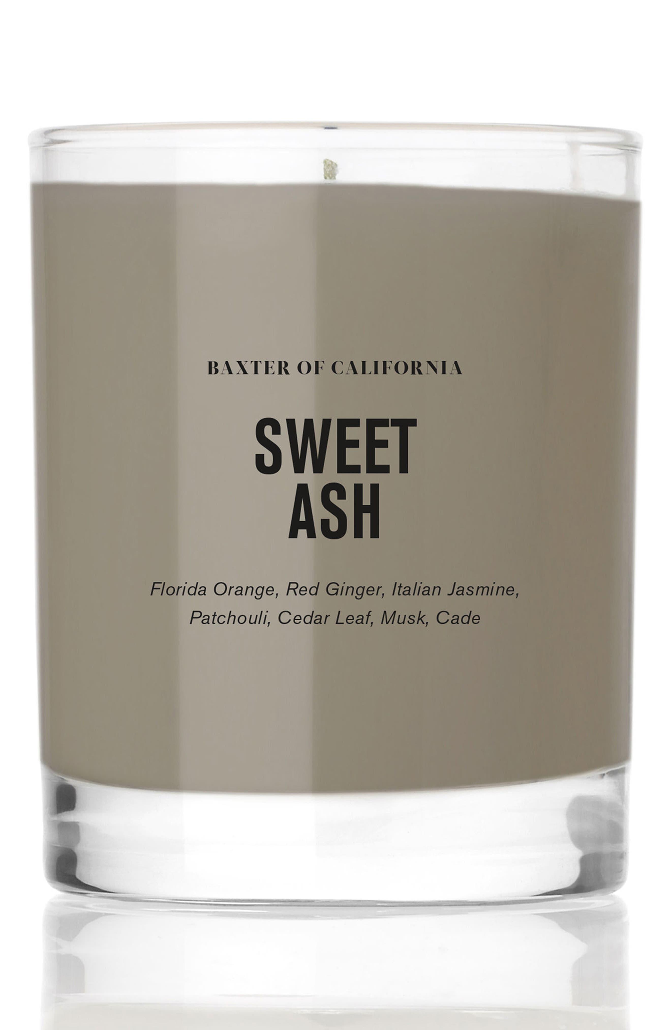 Sweet Ash Candle,                             Main thumbnail 1, color,                             No Color