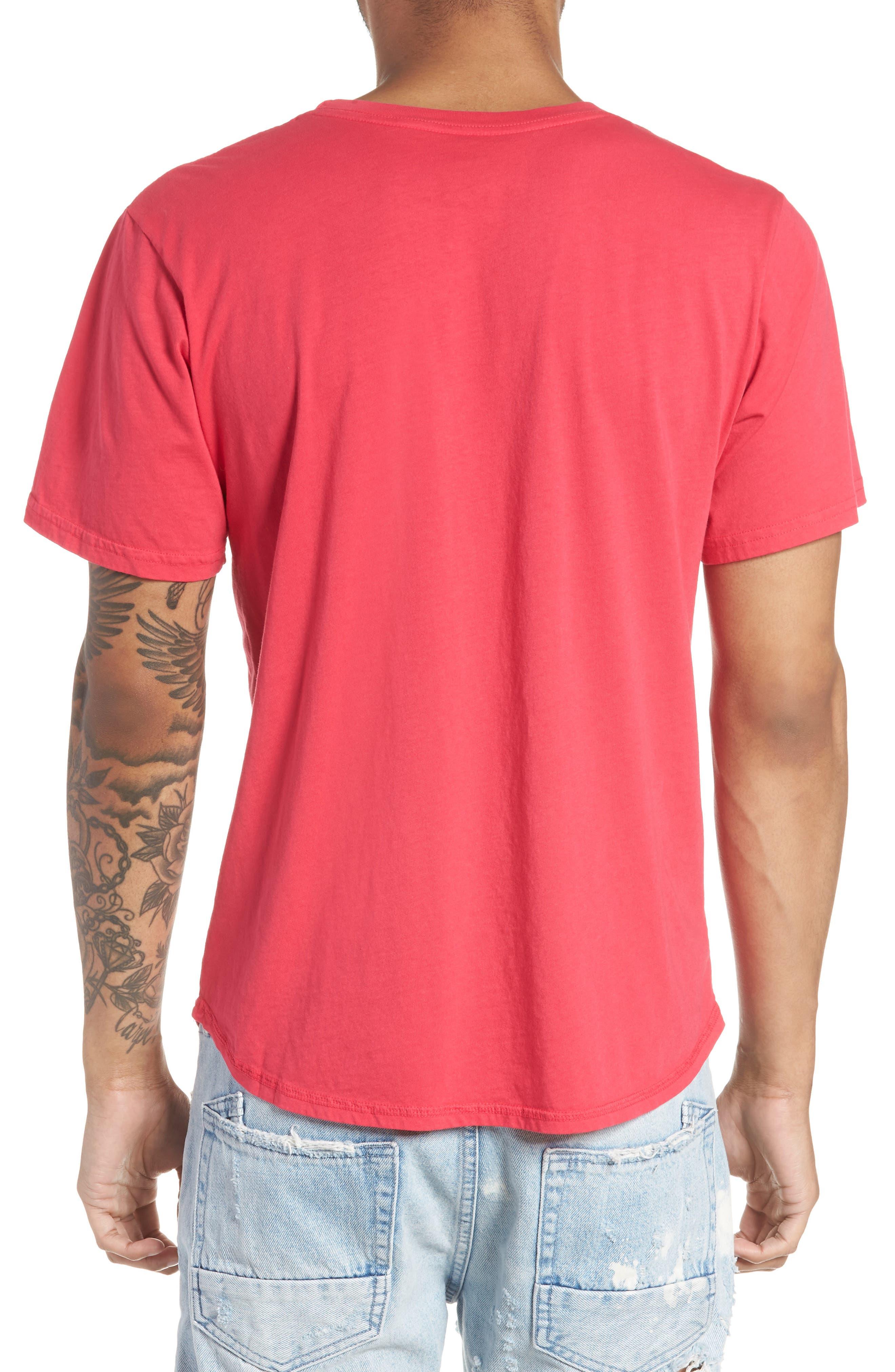 Generation Appropriation Crewneck T-Shirt,                             Alternate thumbnail 2, color,                             Punk Pink