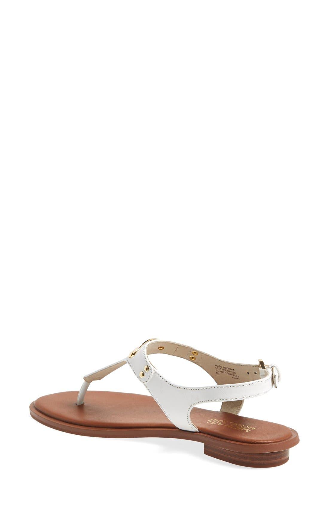 Alternate Image 2  - MICHAEL Michael Kors 'Plate' Thong Sandal