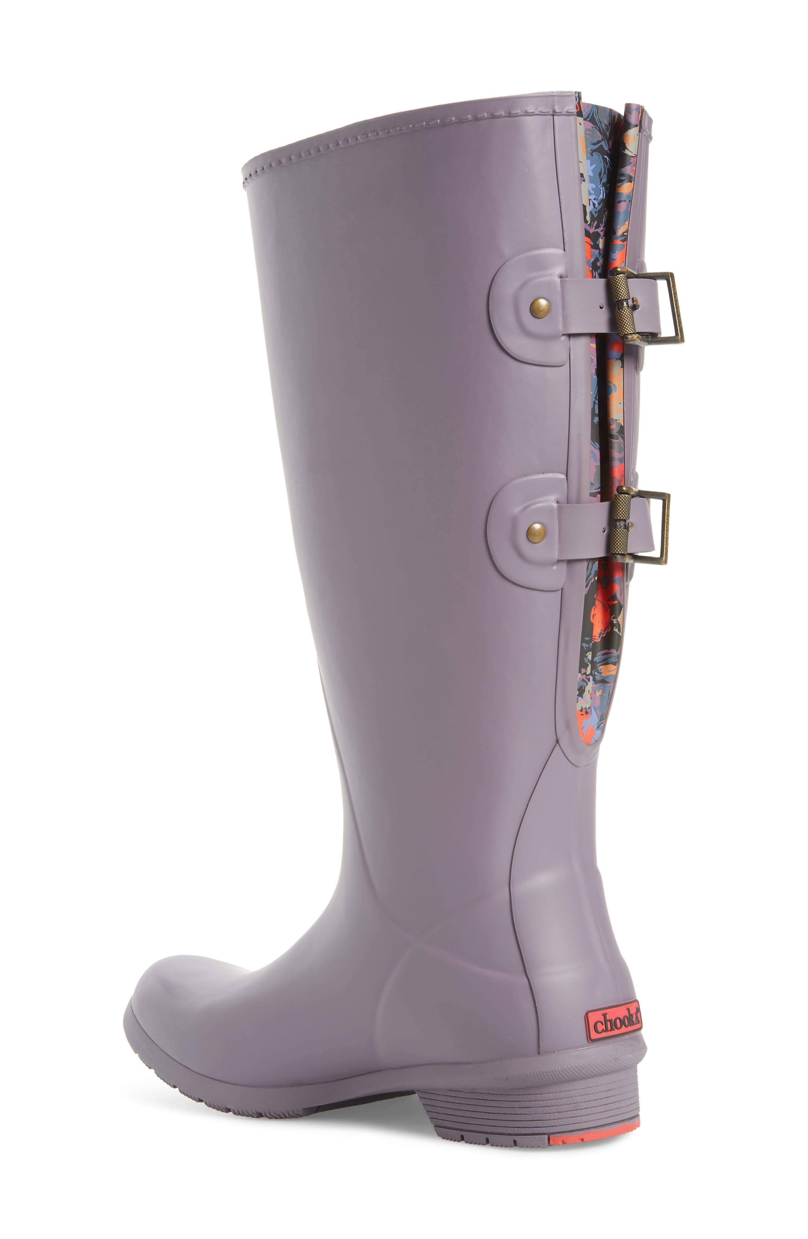 Versa Prima Tall Rain Boot,                             Alternate thumbnail 2, color,                             Mulberry