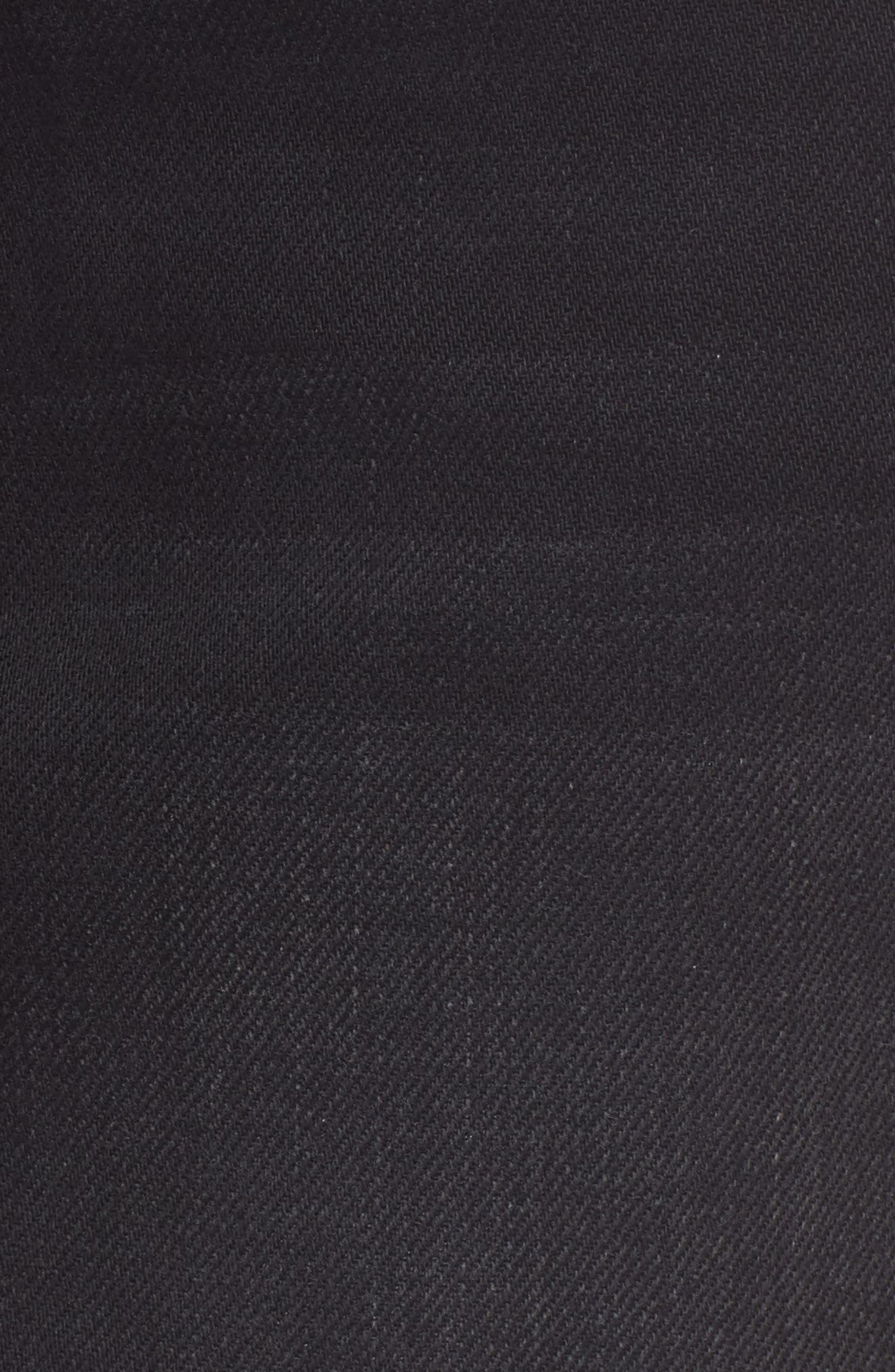 Le Mini Denim Skirt,                             Alternate thumbnail 6, color,                             Conwell