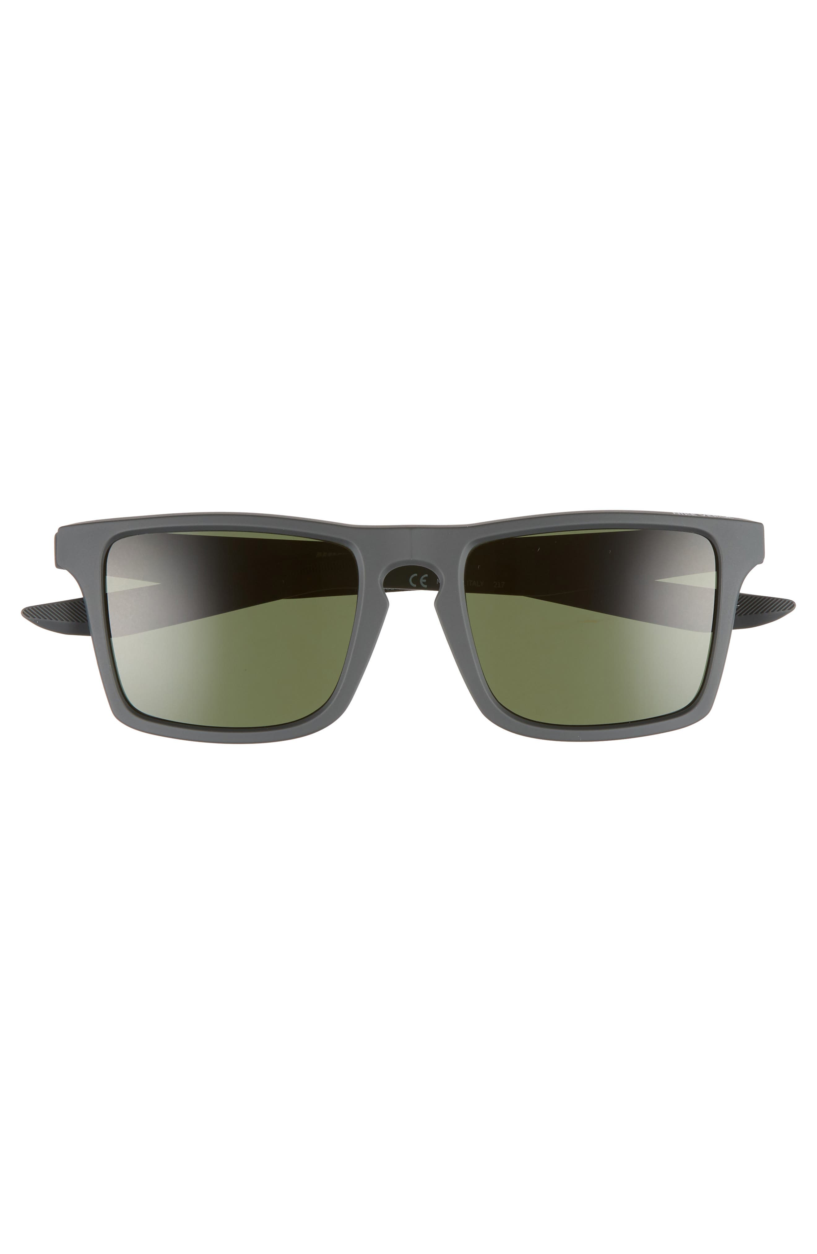 Verge 52mm Sunglasses,                             Alternate thumbnail 2, color,                             Anthracite/ Cool Grey/ Green