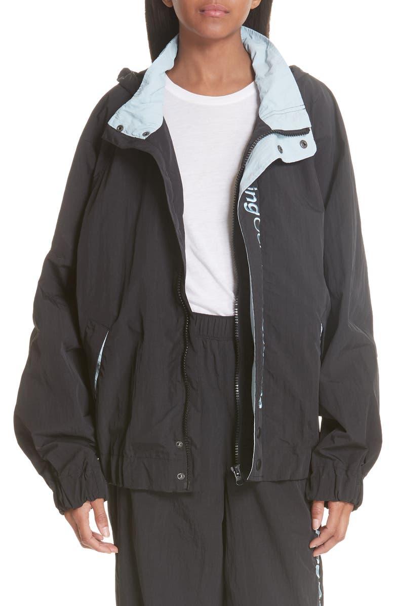 Crinkle Nylon Wind Jacket