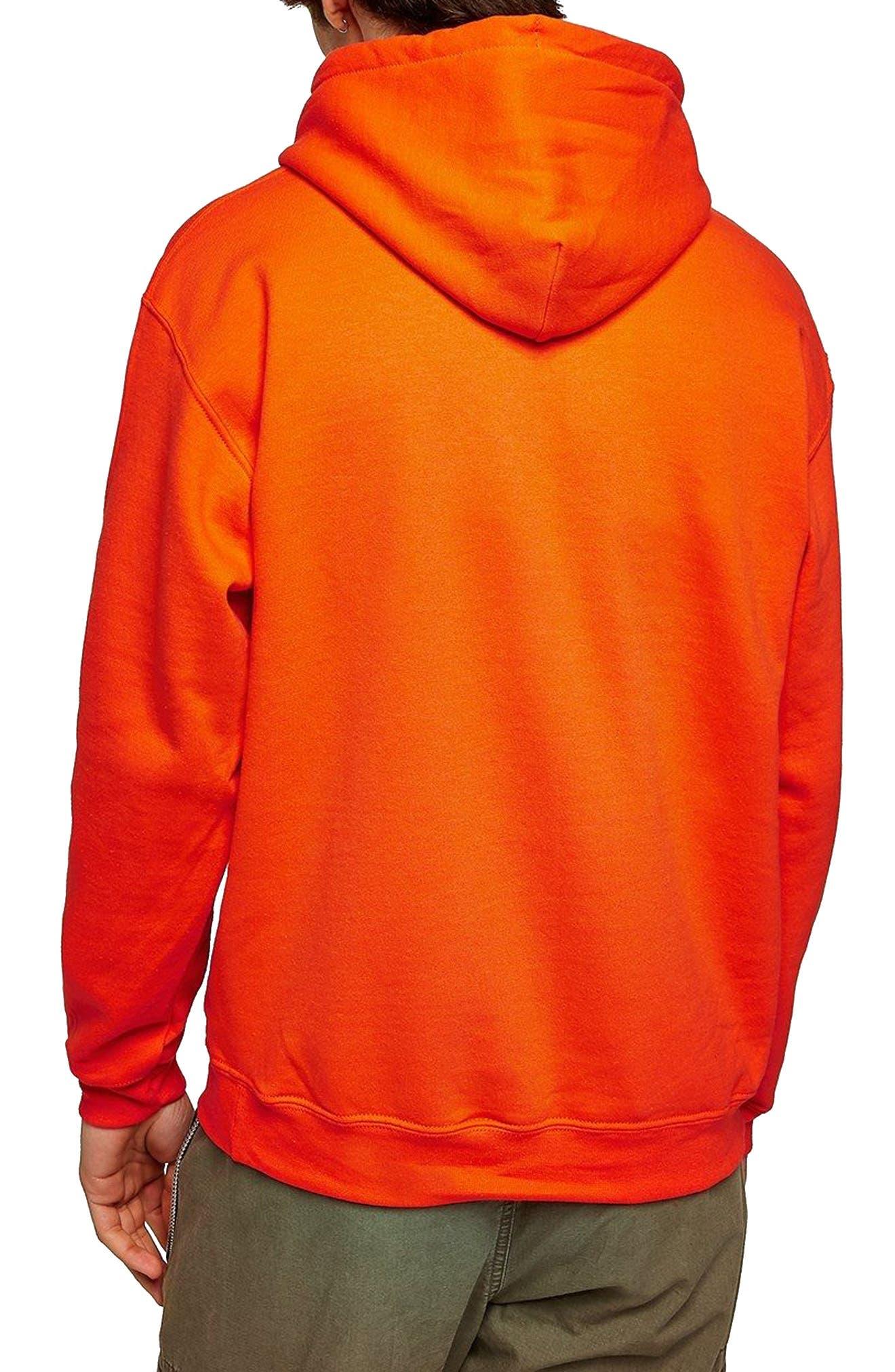 Classic Fit Gildan Pullover Hoodie,                             Alternate thumbnail 2, color,                             Orange