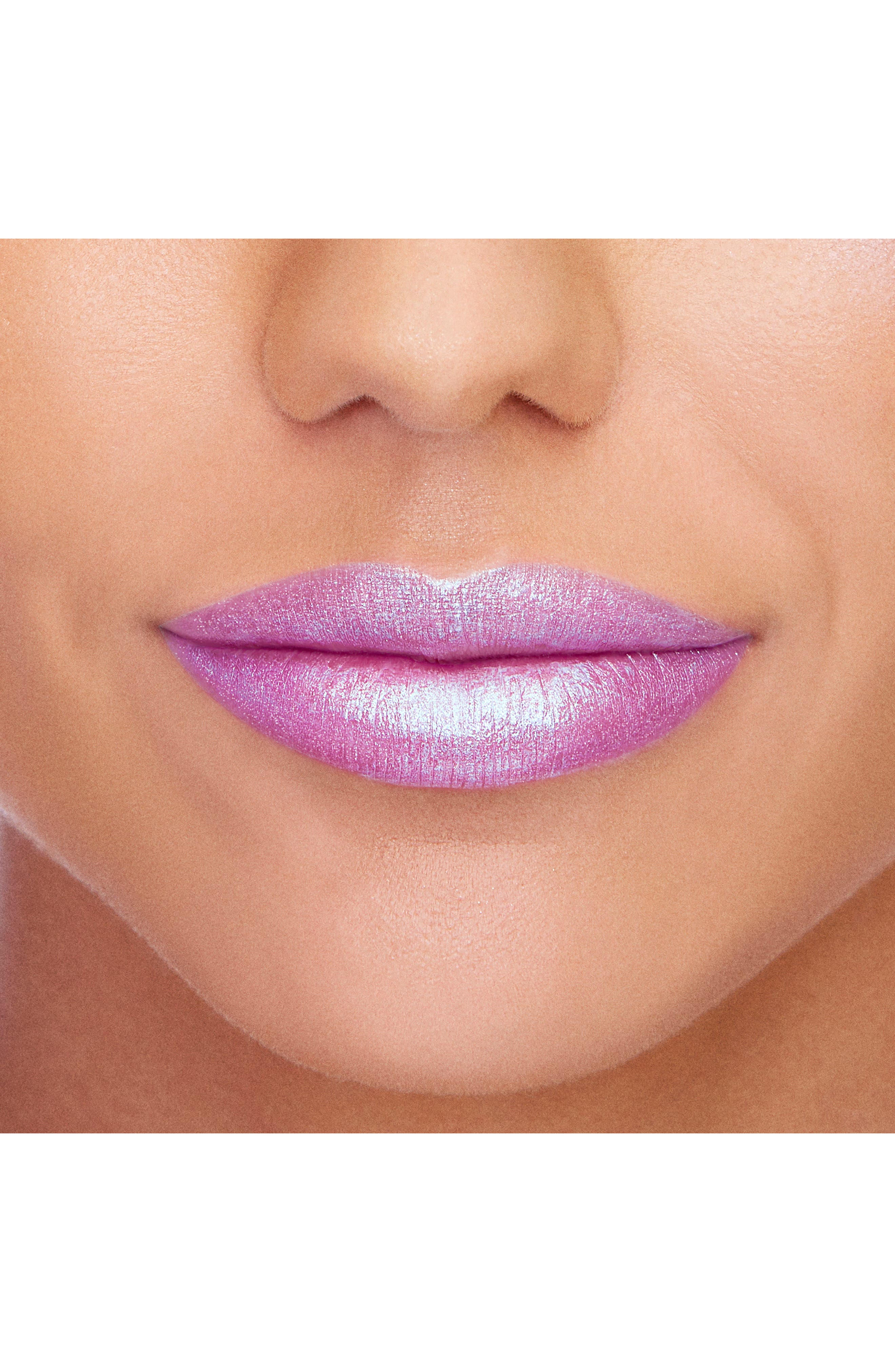 La Crème Mystical Effects Lipstick,                             Alternate thumbnail 4, color,                             Unicorn Tears