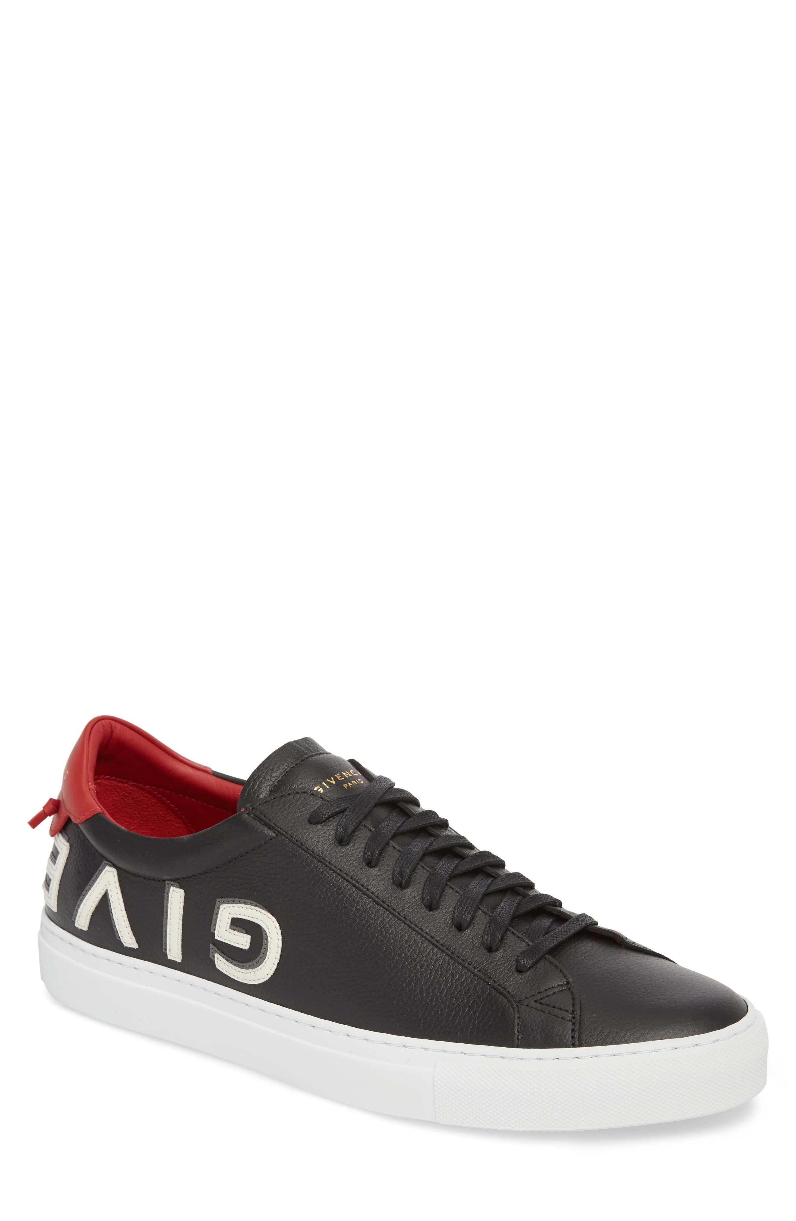 Urban Street Upside Down Sneaker,                             Main thumbnail 1, color,                             Black/ Red