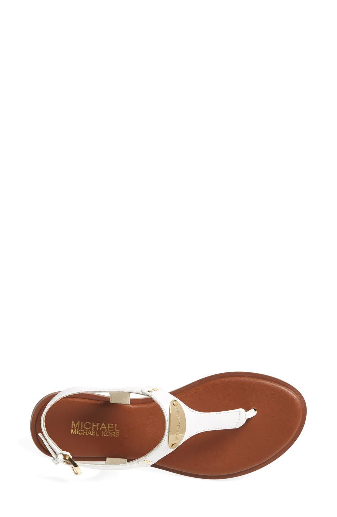 Alternate Image 3  - MICHAEL Michael Kors 'Plate' Thong Sandal