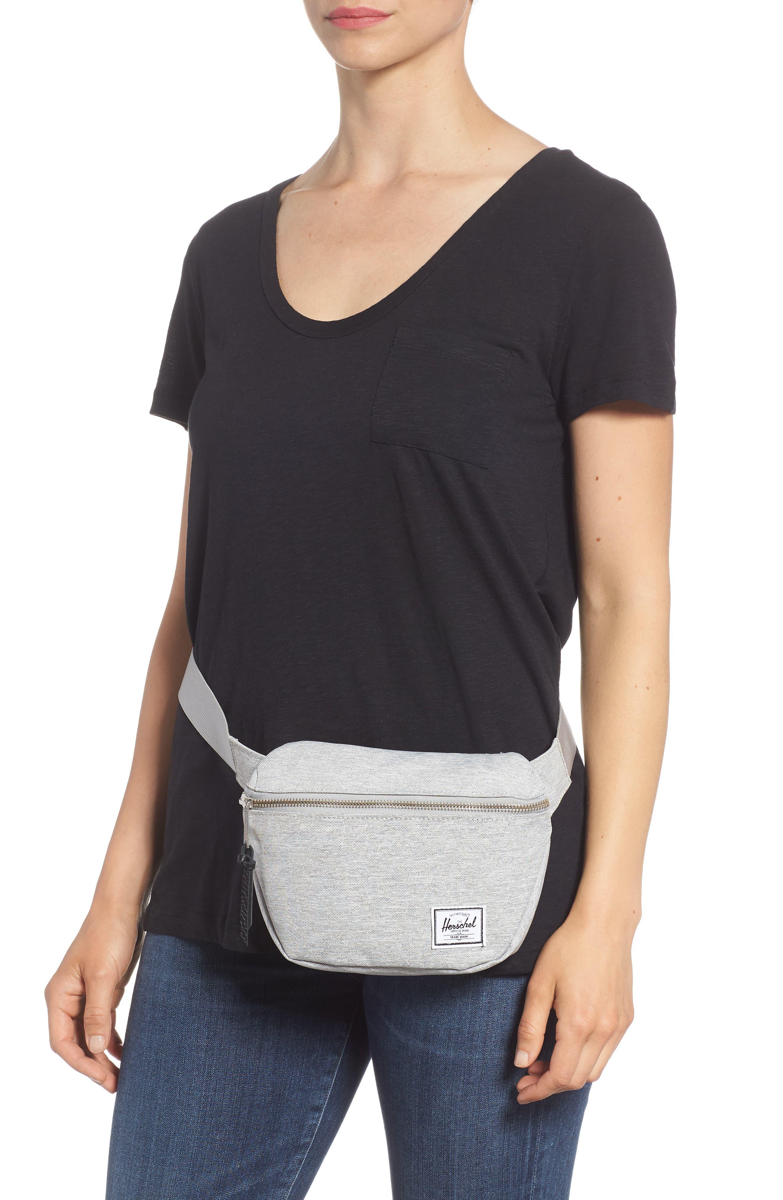 Fifteen Belt Bag,                             Alternate thumbnail 3, color,                             Light Grey