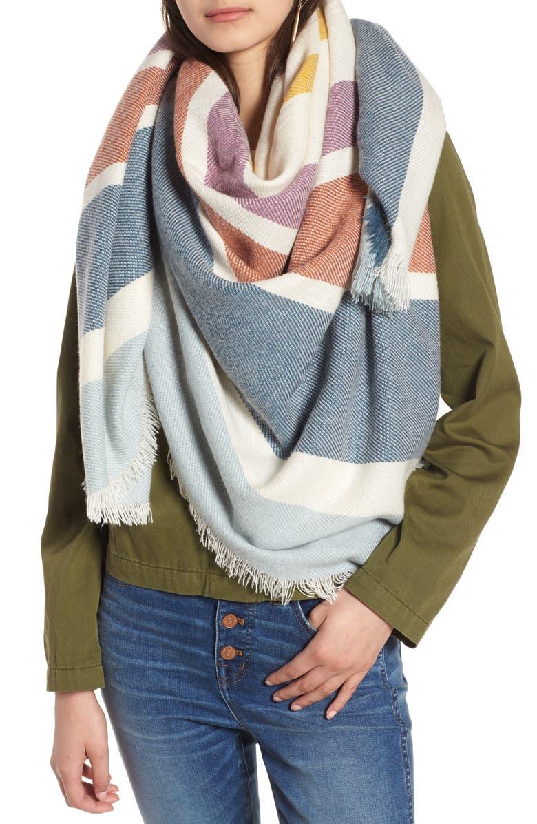 Madewell Stripe Blanket Scarf | Nordstrom