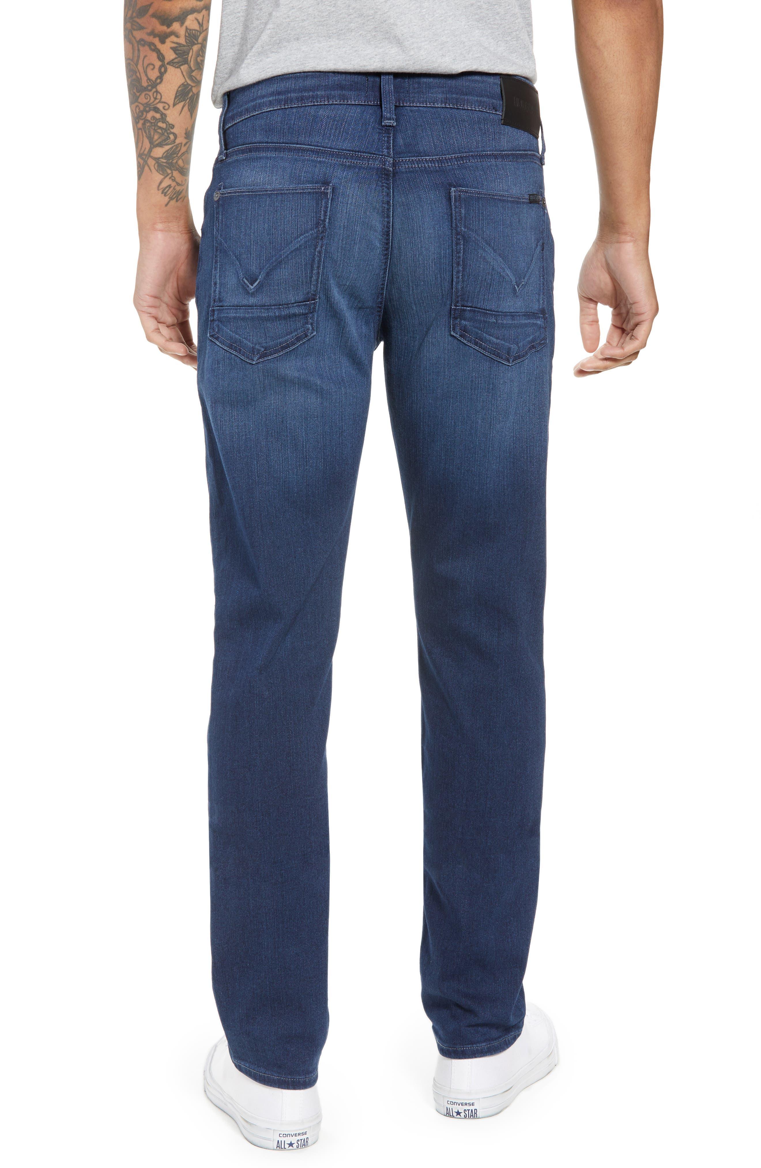 Byron Slim Straight Leg Jeans,                             Alternate thumbnail 2, color,                             Freeman