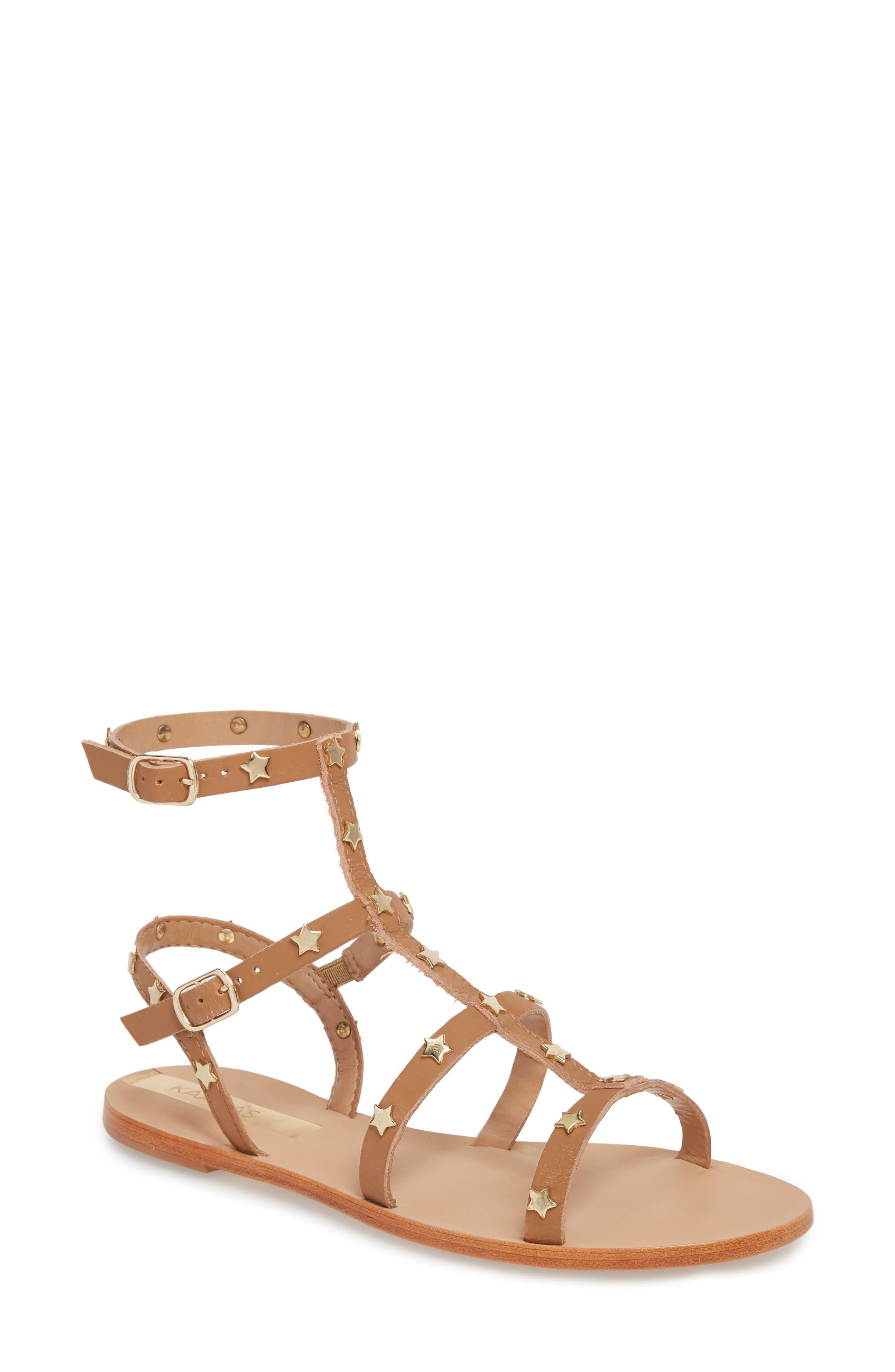 Lapa Gladiator Sandal,                             Main thumbnail 1, color,                             Honey