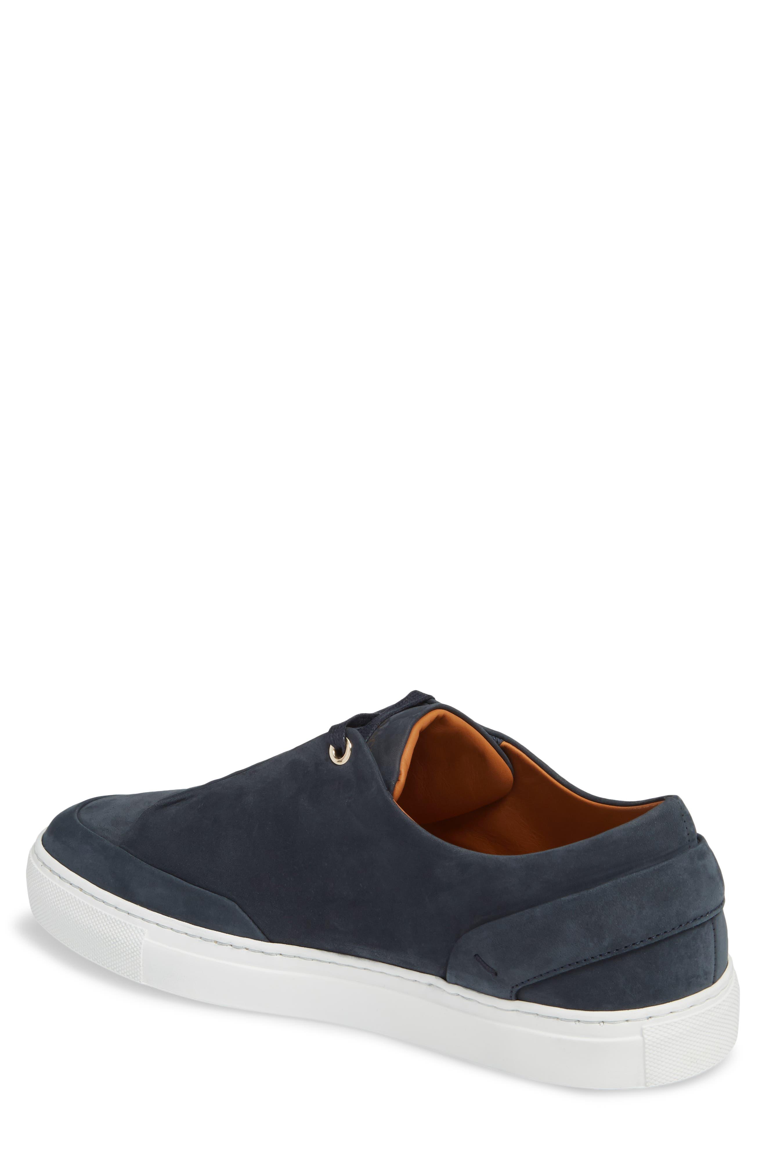 Avedon Sneaker,                             Alternate thumbnail 2, color,                             Navy Nubuck Leather