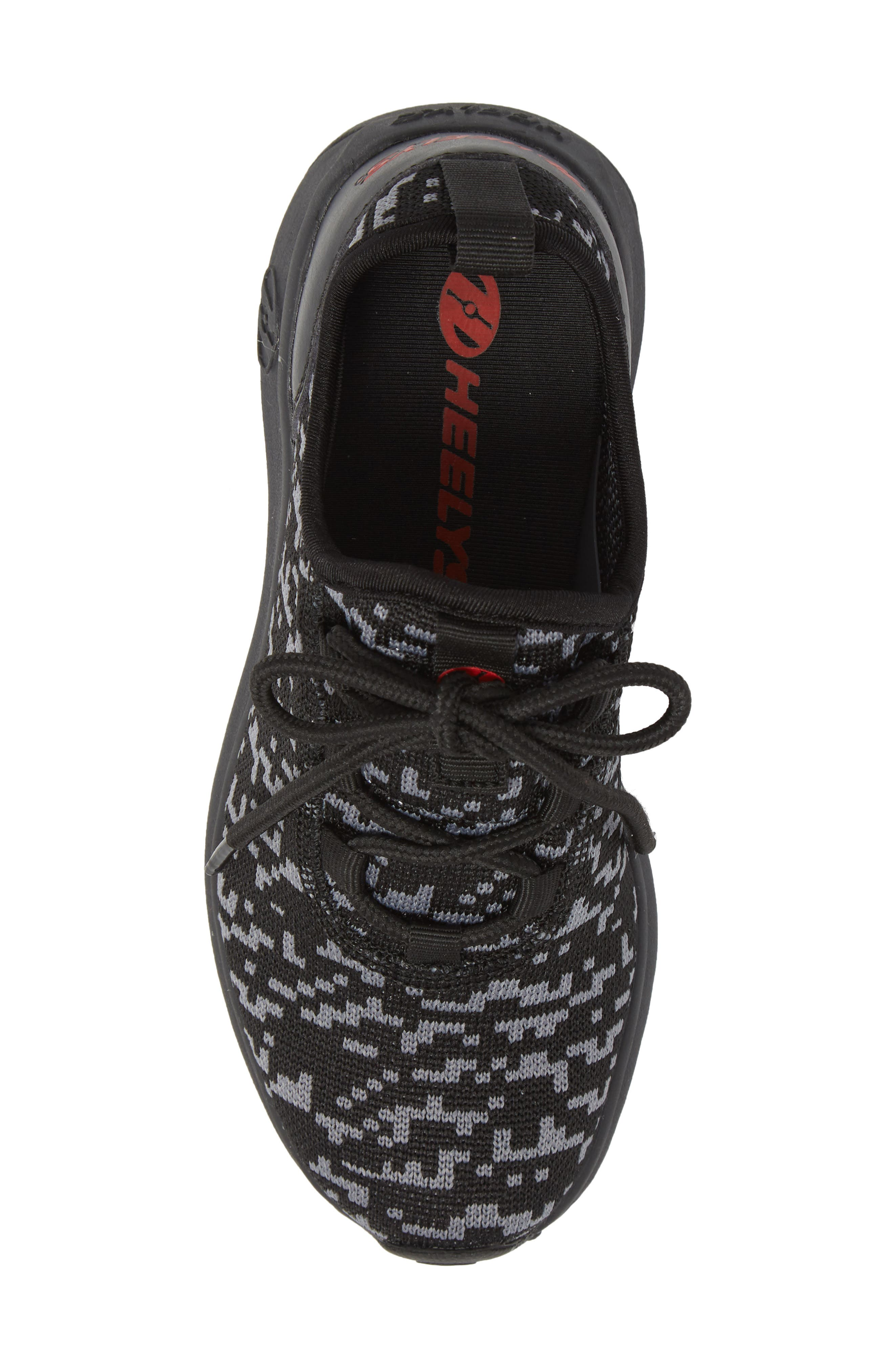 Player Sneaker,                             Alternate thumbnail 5, color,                             Black/ Red