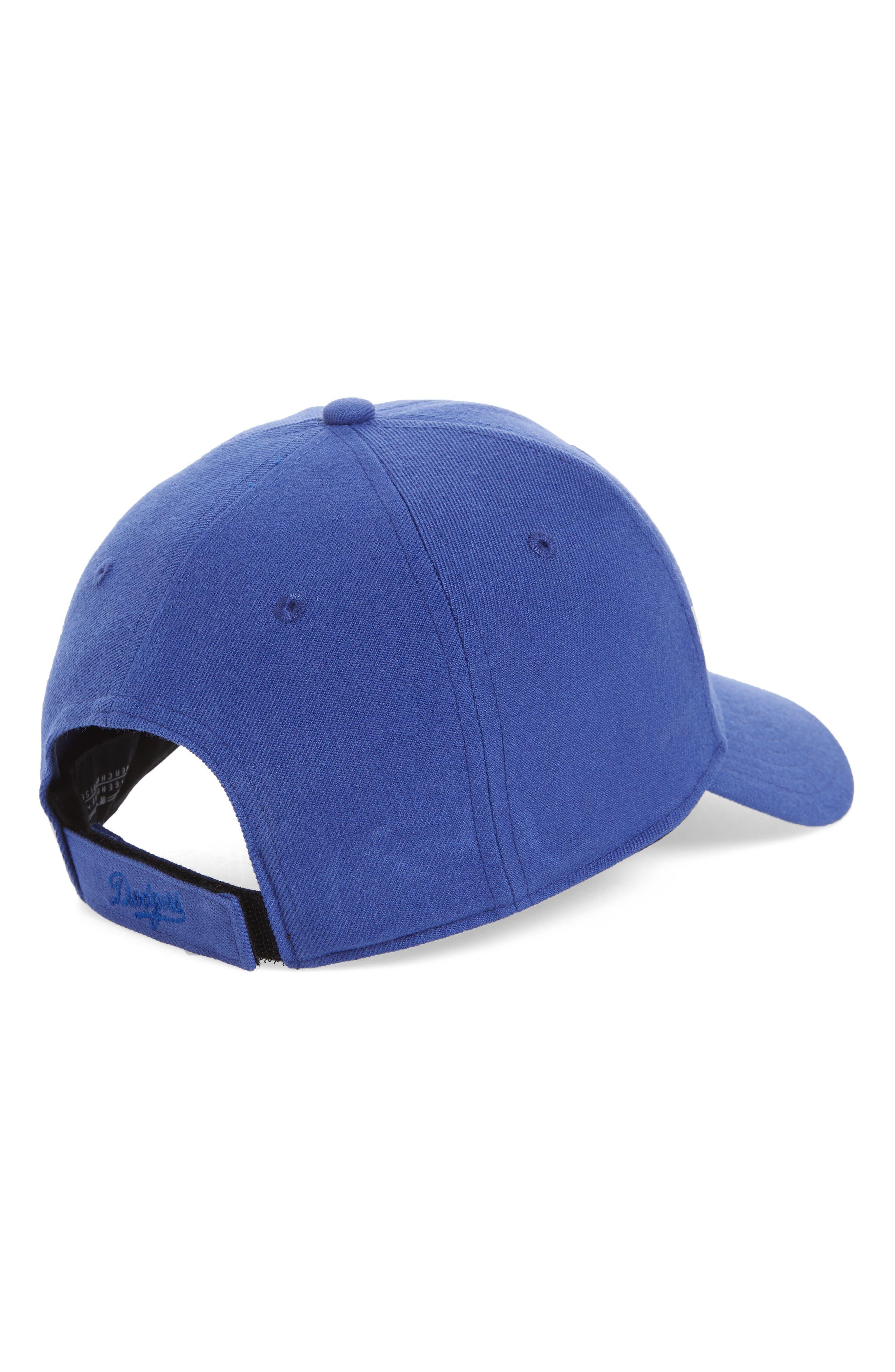 MVP LA Dodgers Baseball Cap,                             Alternate thumbnail 2, color,                             Royal