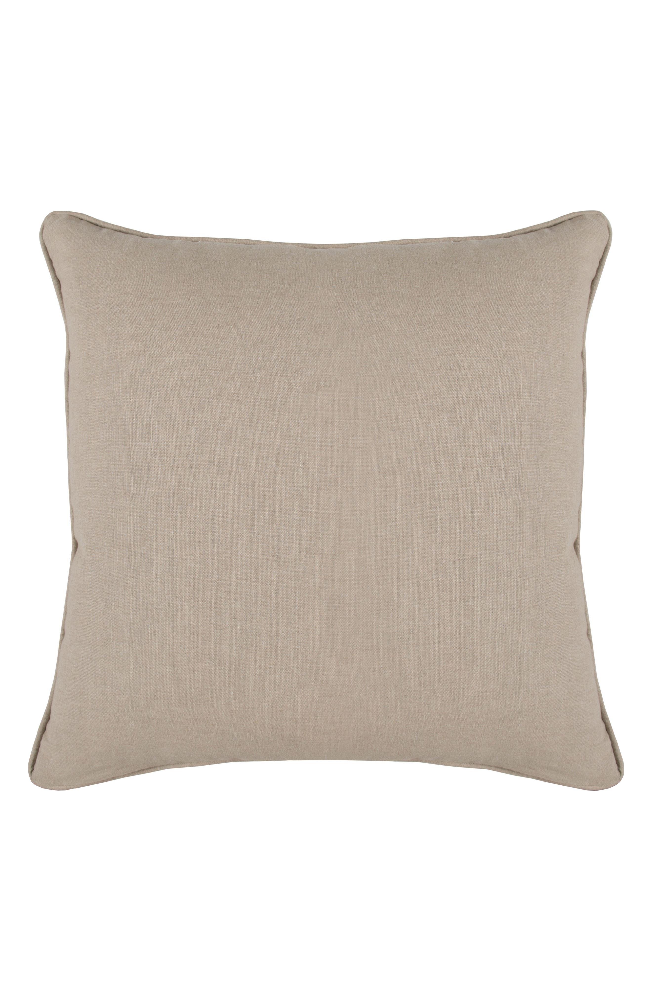Luri Accent Pillow,                             Alternate thumbnail 2, color,                             Natural