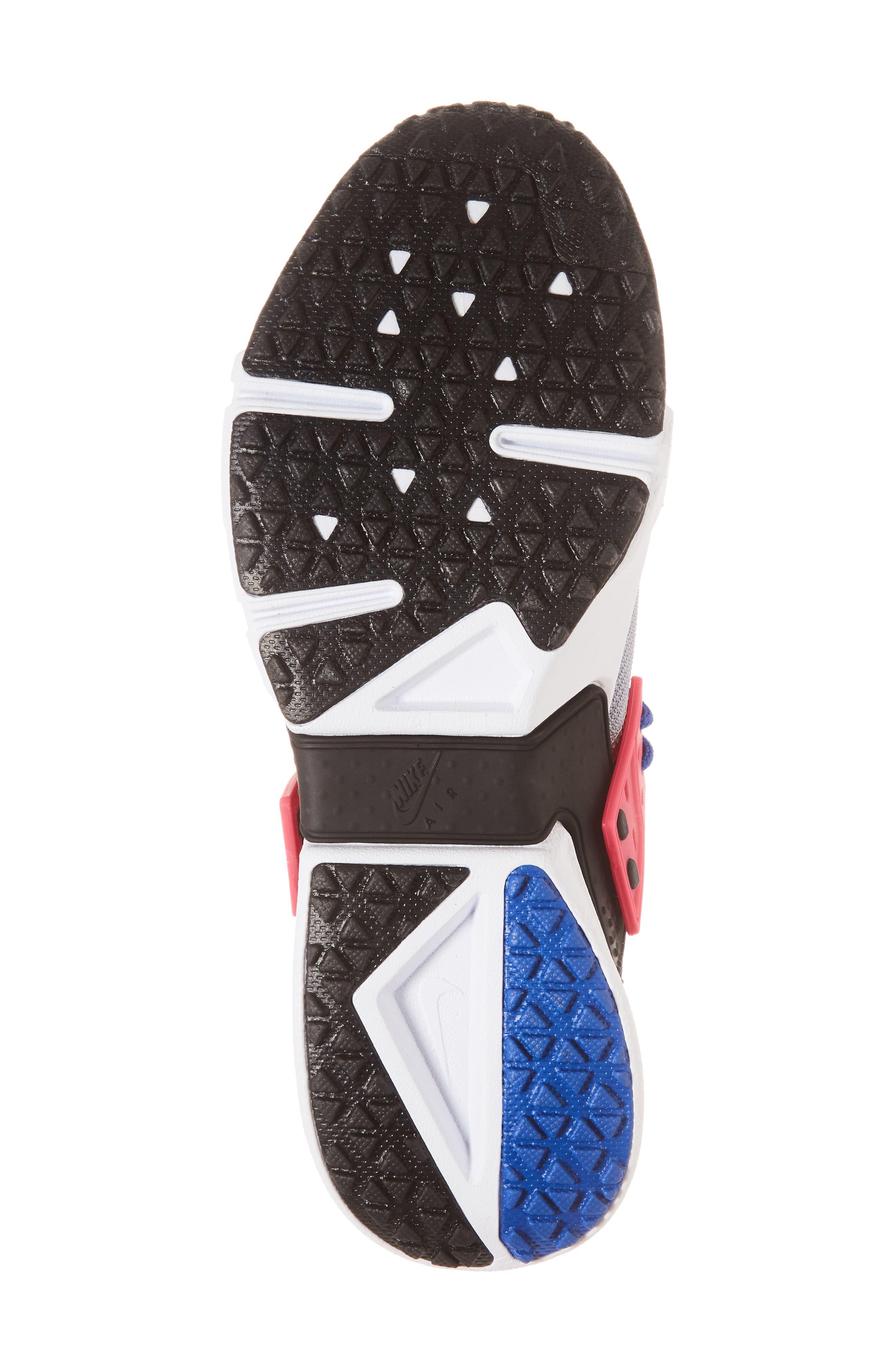 Air Huarache Drift Sneaker,                             Alternate thumbnail 6, color,                             Game Royal/ White/ Wolf Grey