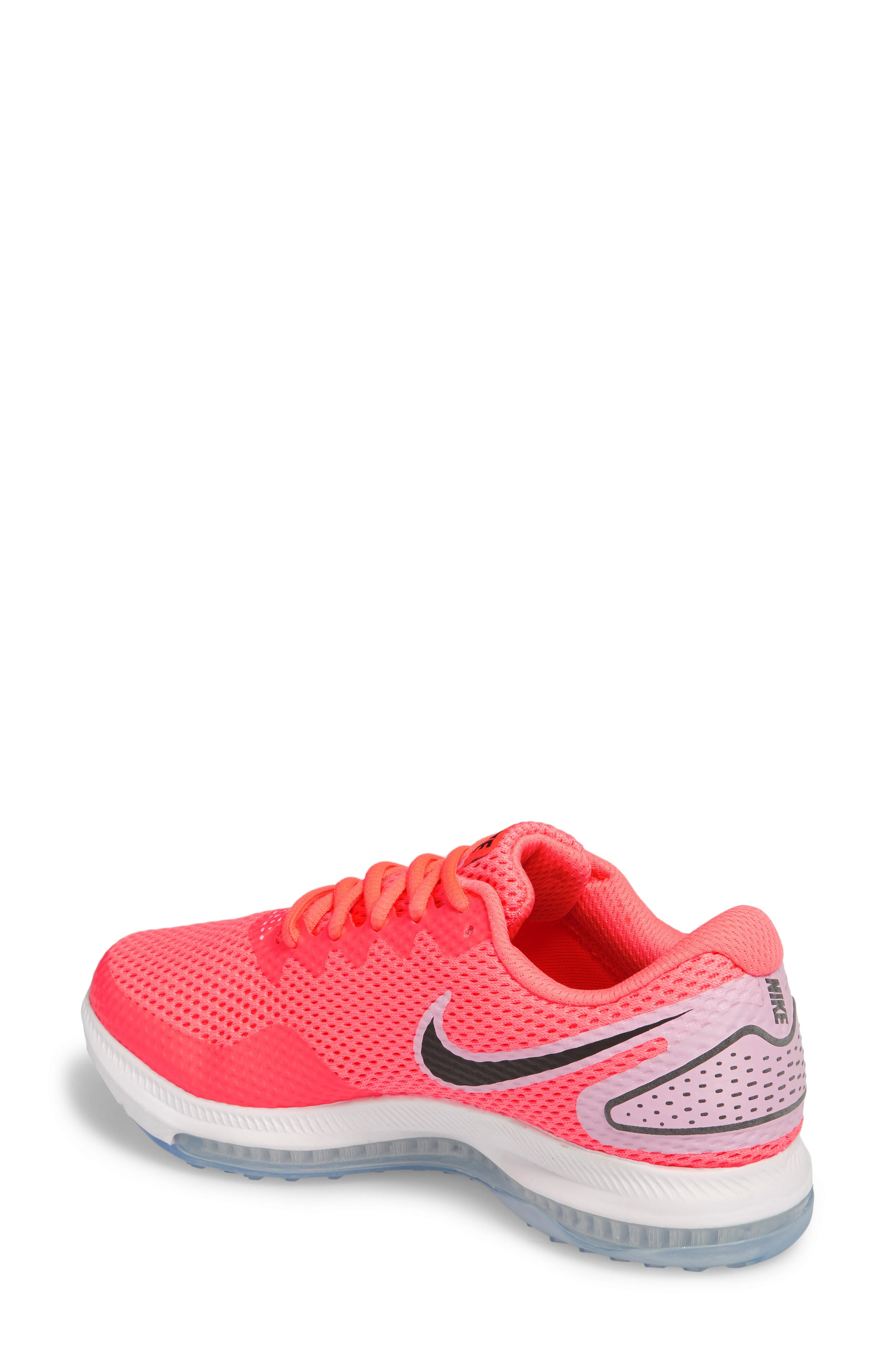 Zoom All Out Low 2 Running Shoe,                             Alternate thumbnail 2, color,                             Hot Punch/ Black
