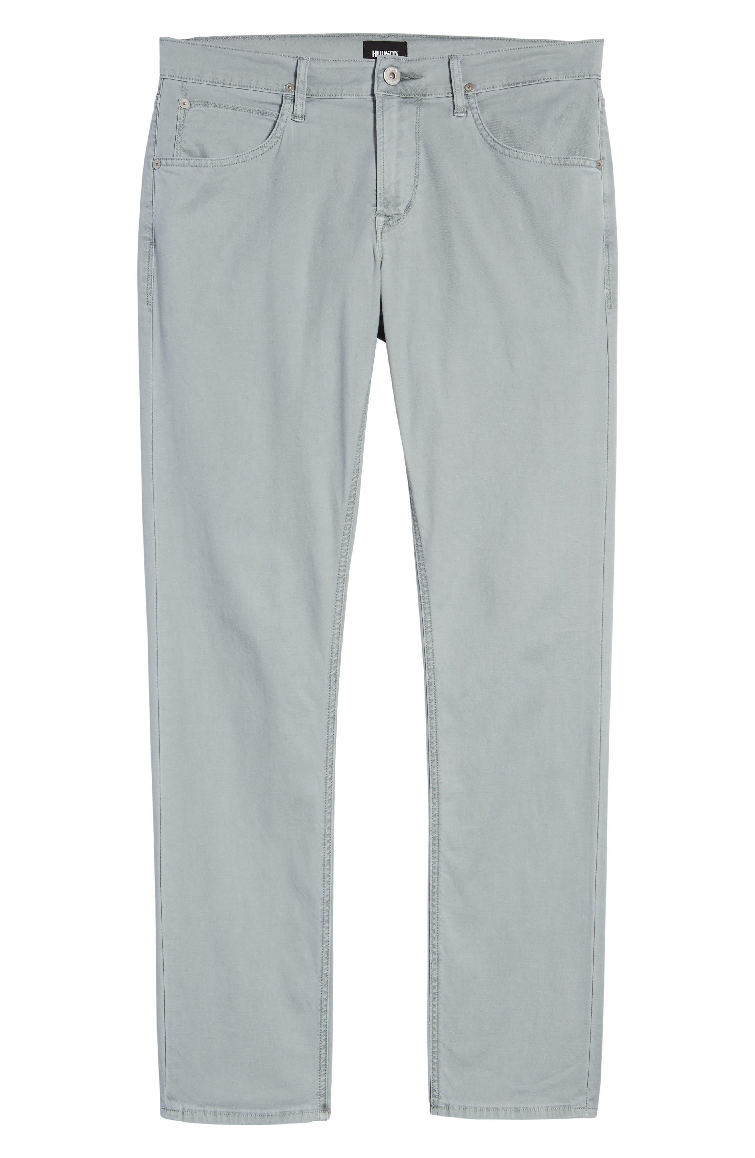 Blake Slim Fit Jeans,                             Alternate thumbnail 6, color,                             Steel Blue