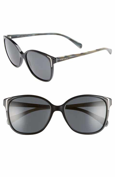 7a49c91948e2d Prada 55mm Retro Sunglasses (Nordstrom Exclusive)