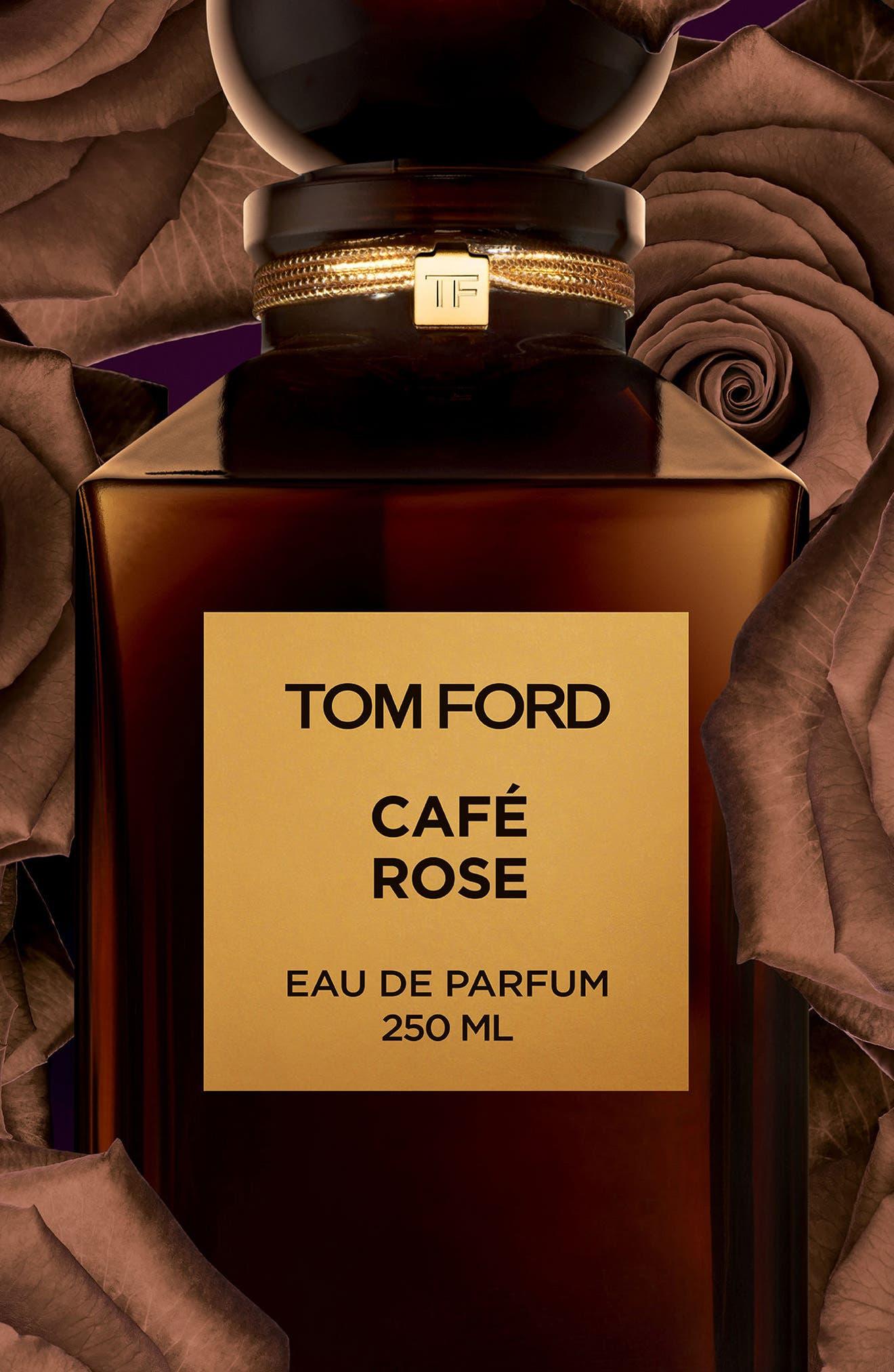 Private Blend Café Rose Eau de Parfum Decanter,                             Alternate thumbnail 3, color,                             No Color