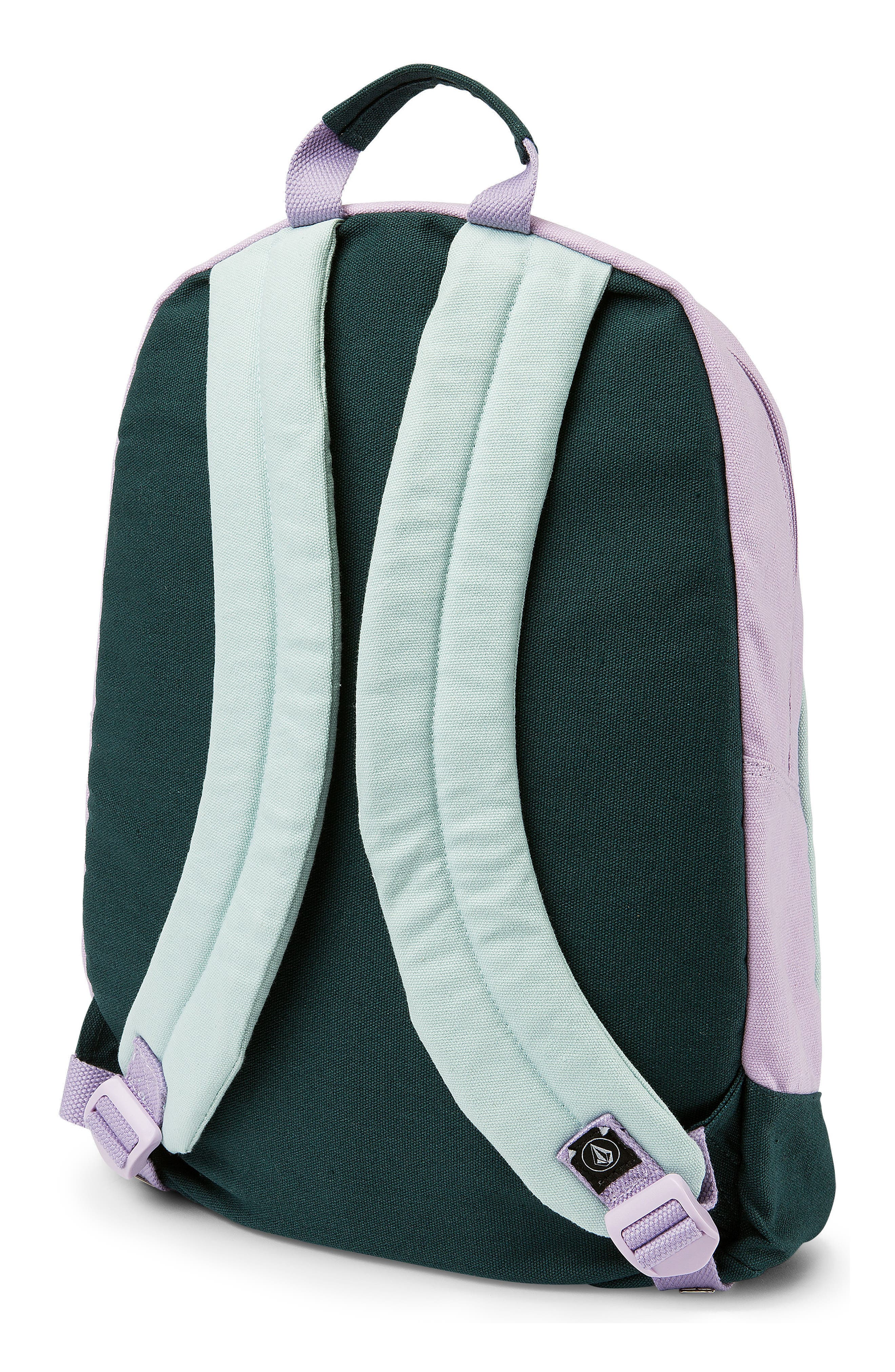 Schoolyard Canvas Backpack,                             Alternate thumbnail 2, color,                             Light Blue
