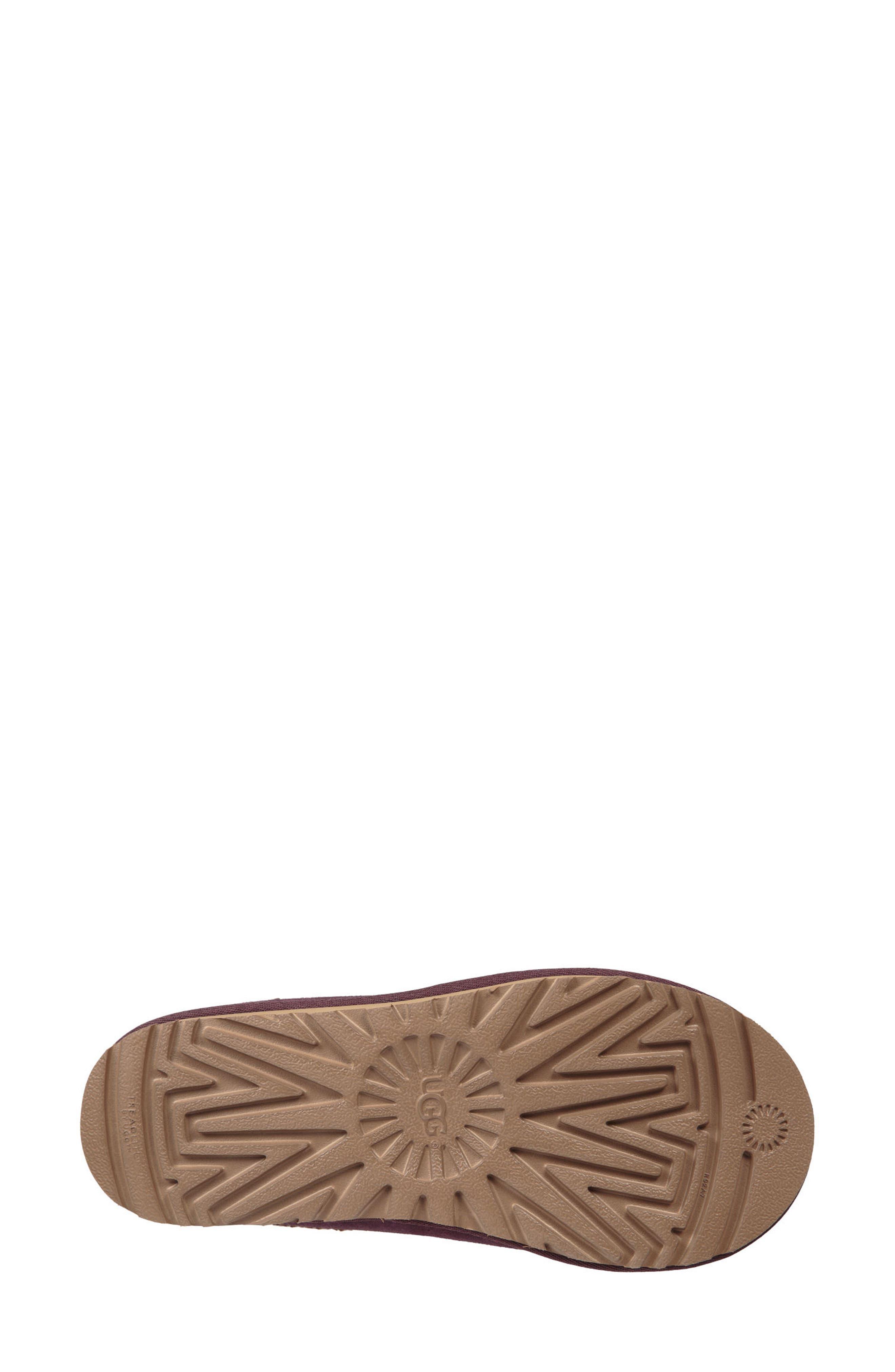 'Tasman' Slipper,                             Alternate thumbnail 3, color,                             Port Leather