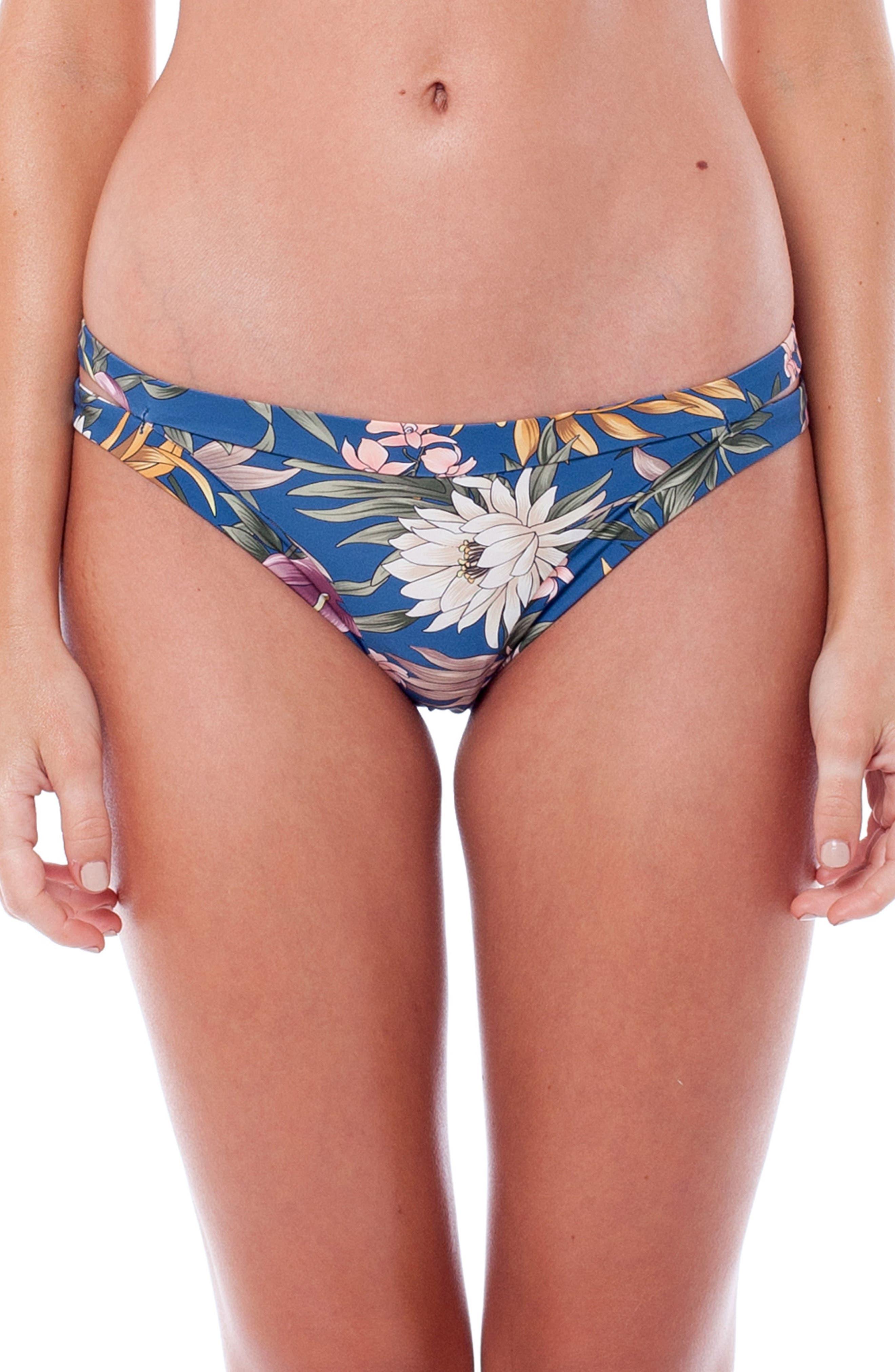 Bermuda Itsy Bikini Bottoms,                         Main,                         color, Sea