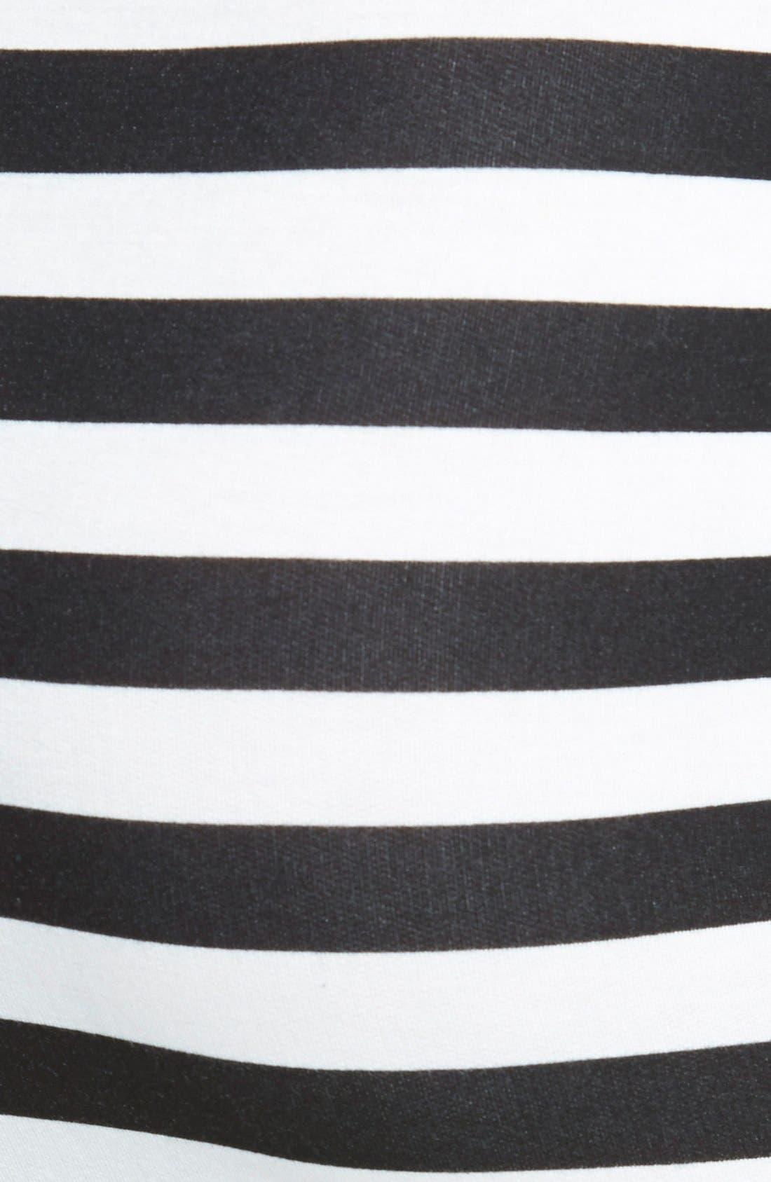 Alternate Image 3  - Lush Stripe Bandage Skirt