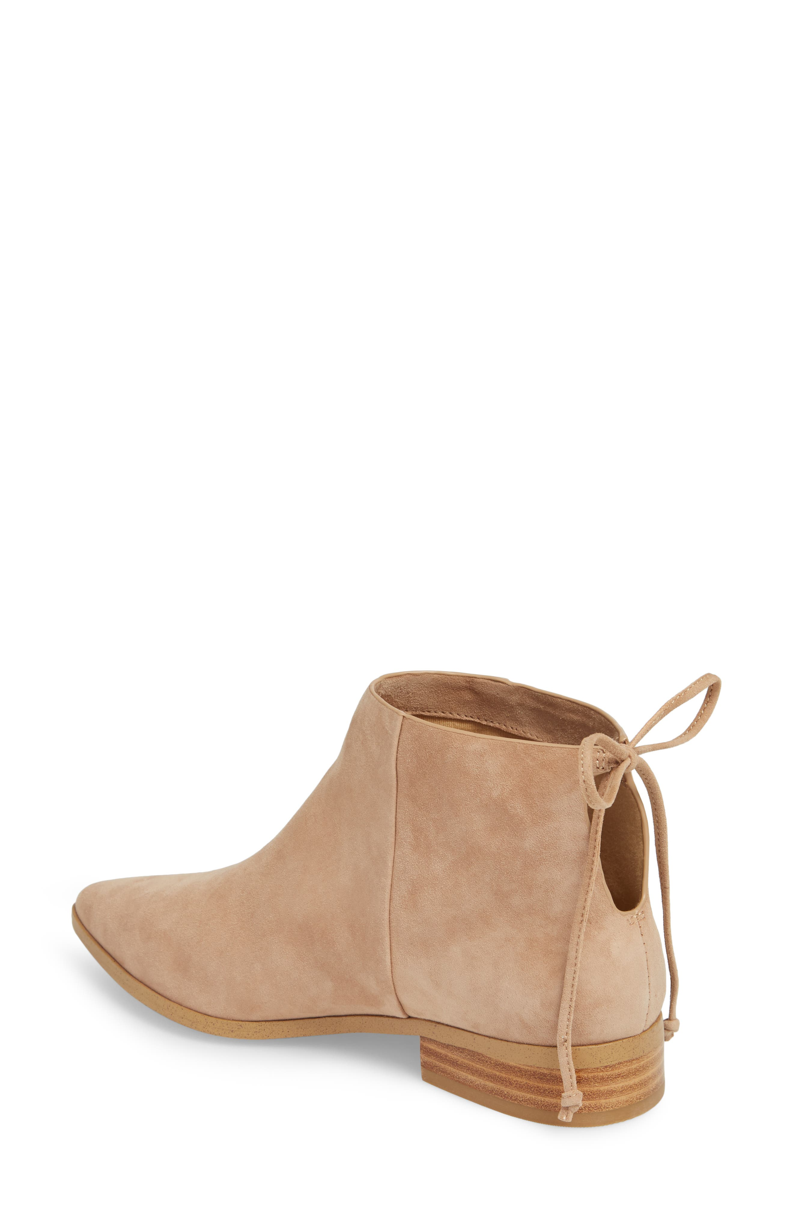 Niva Bootie,                             Alternate thumbnail 2, color,                             Driftwood Suede