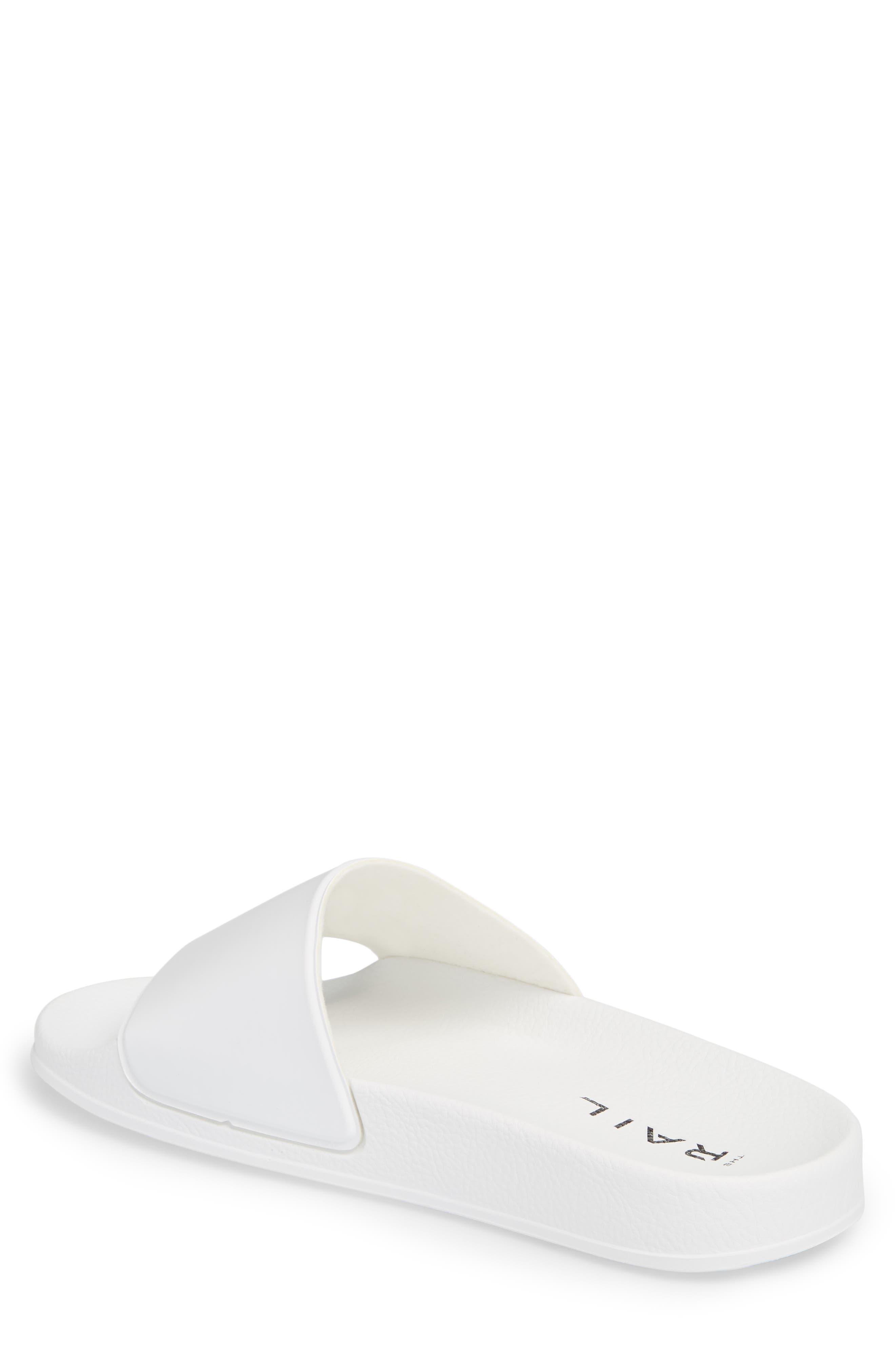Bondi Slide Sandal,                             Alternate thumbnail 2, color,                             White