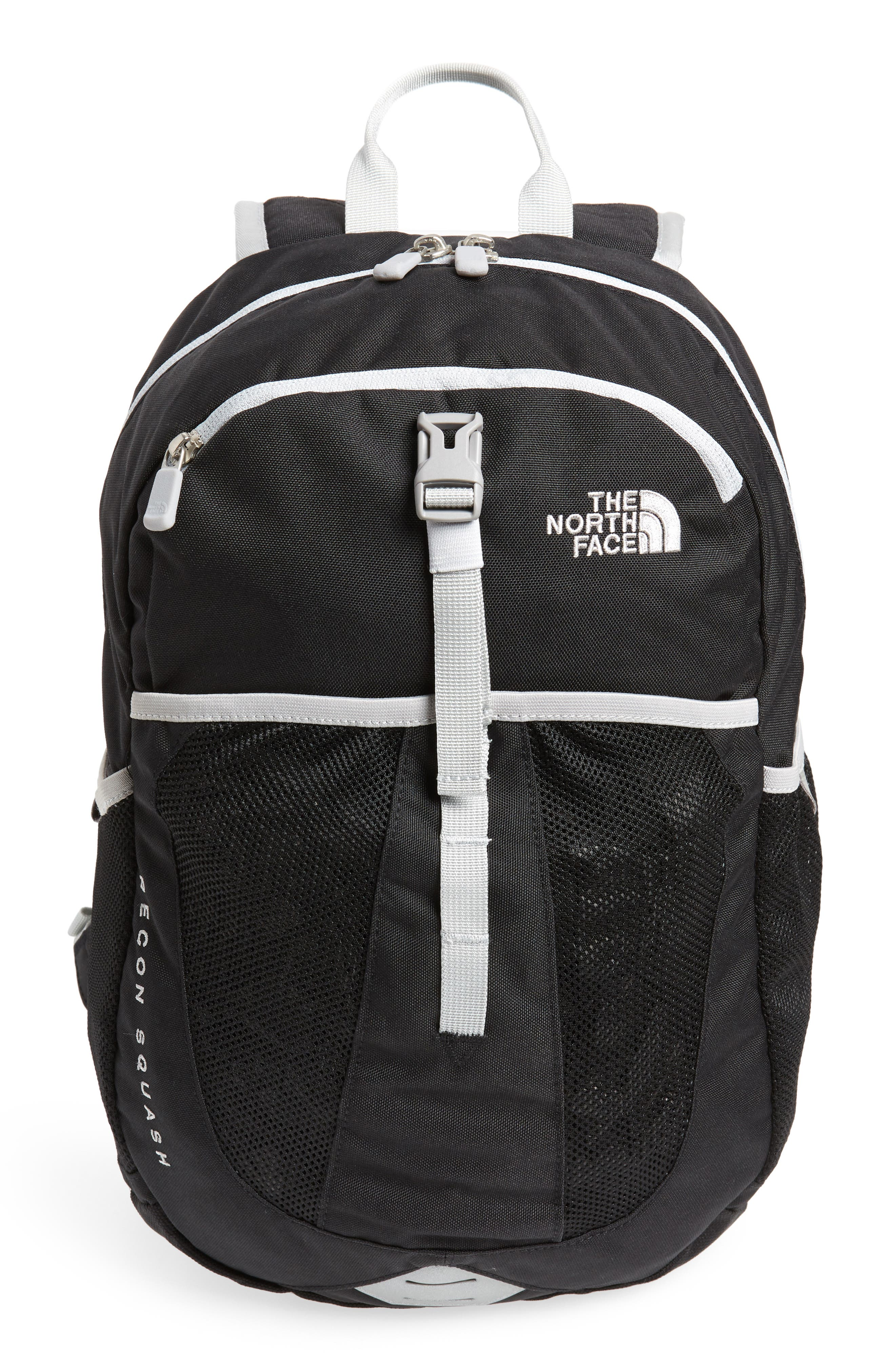 Recon Squash Backpack,                         Main,                         color, Tnf Black/ High Rise Grey
