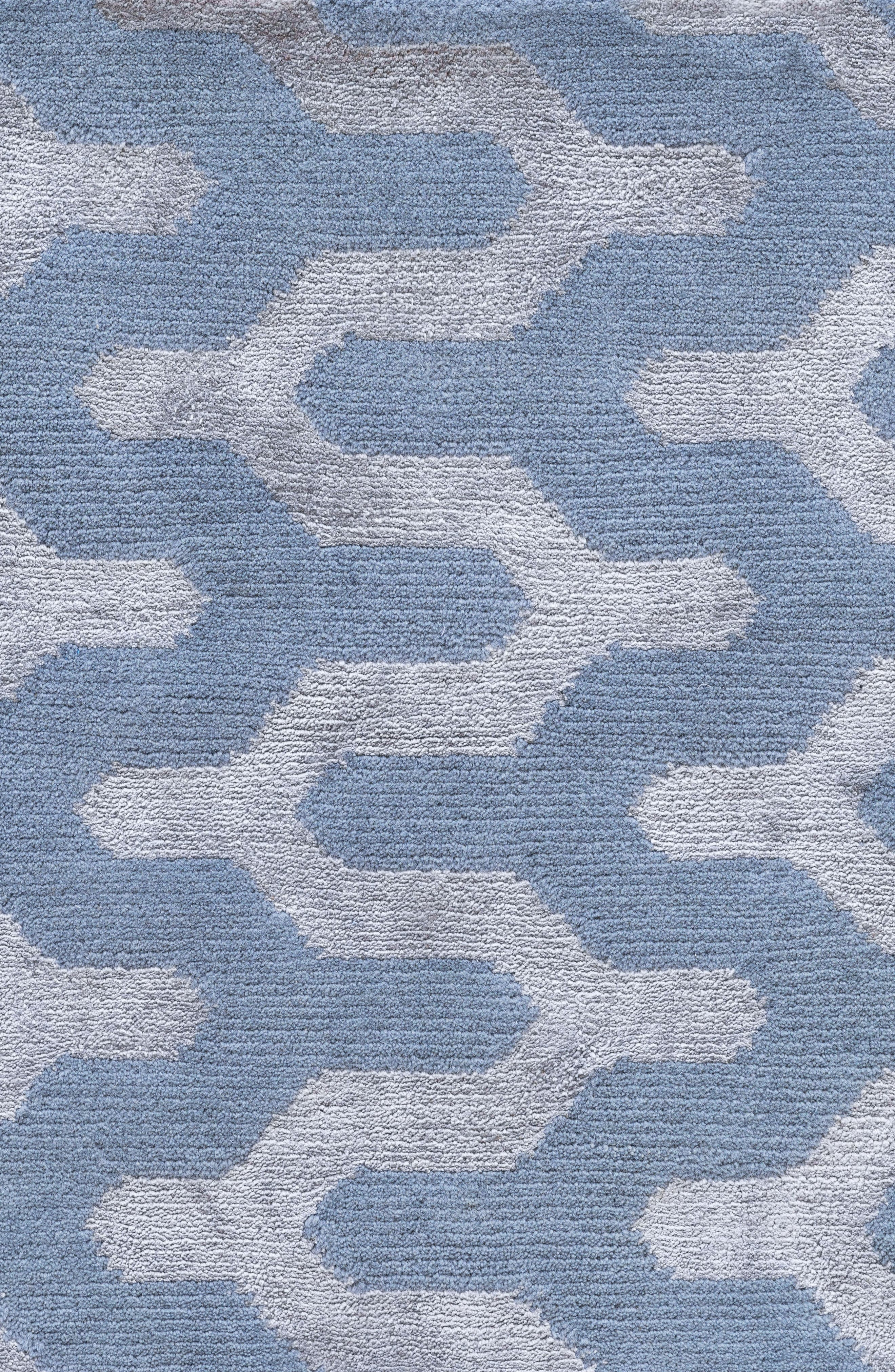 Waves Rug,                             Alternate thumbnail 2, color,                             Blue Fawn
