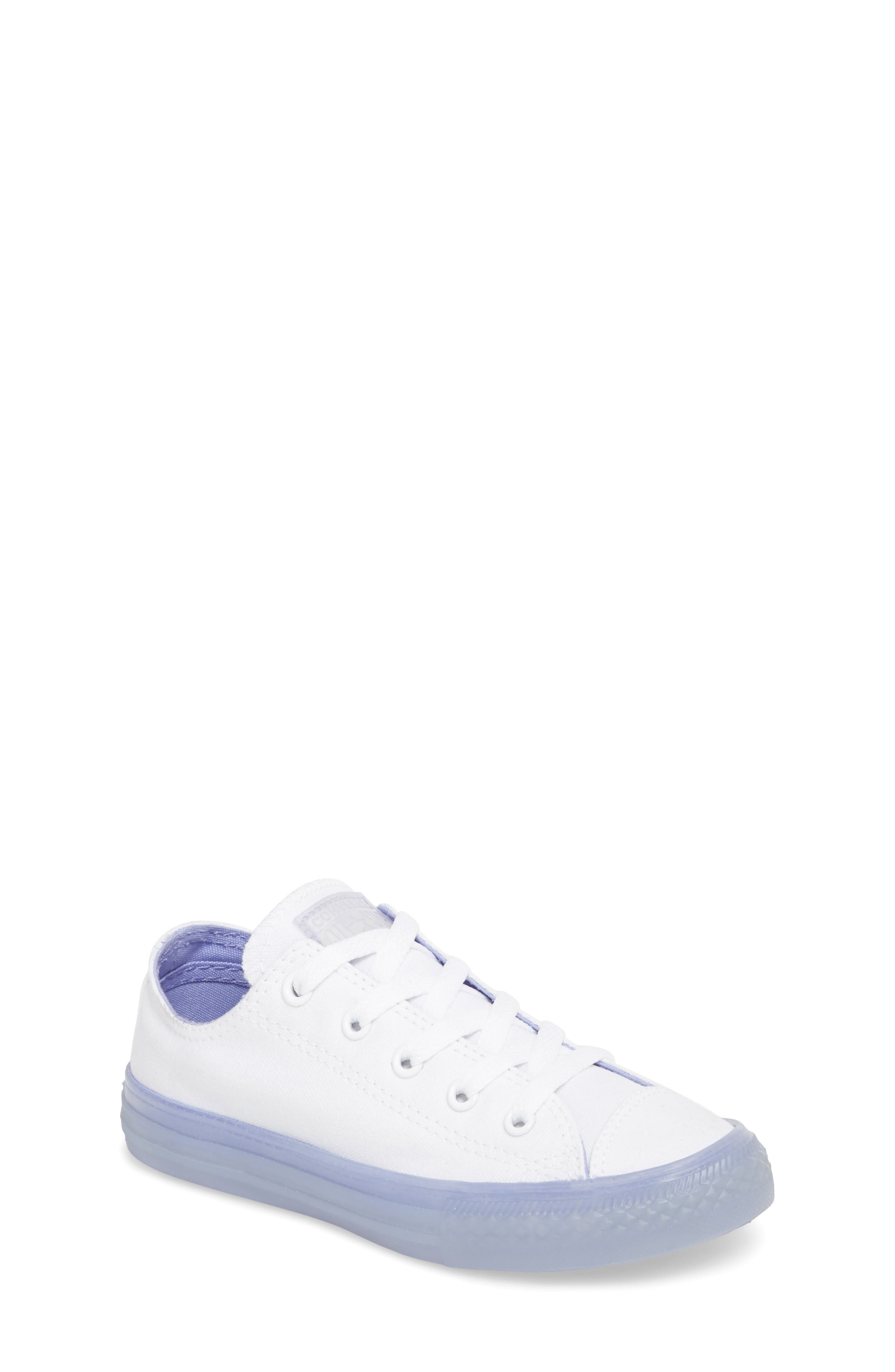 Chuck Taylor<sup>®</sup> All Star<sup>®</sup> Jelly Low Top Sneaker,                             Main thumbnail 1, color,                             Purple