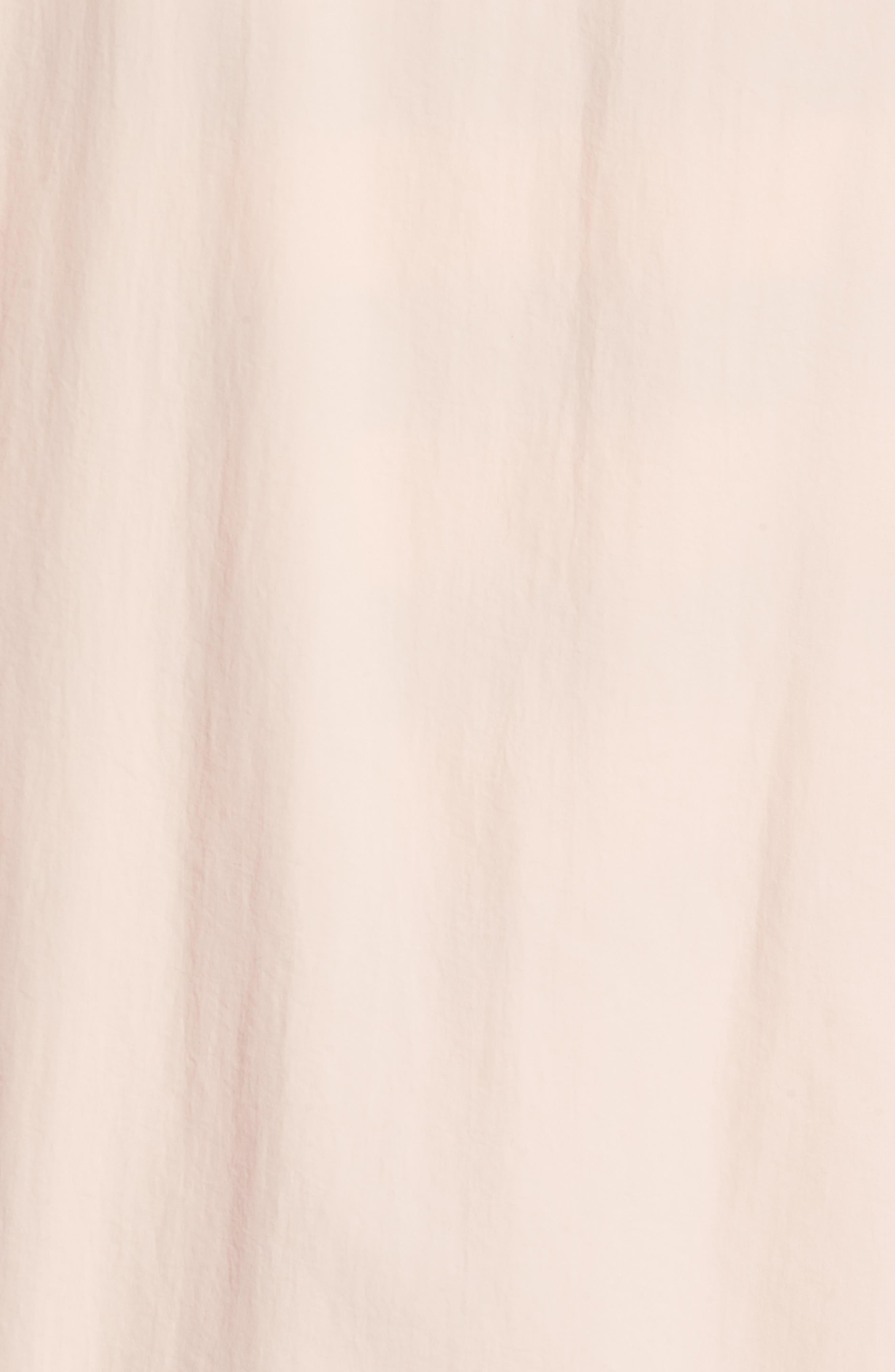 Wrinkled Stowaway Jacket,                             Alternate thumbnail 5, color,                             Ash Rose