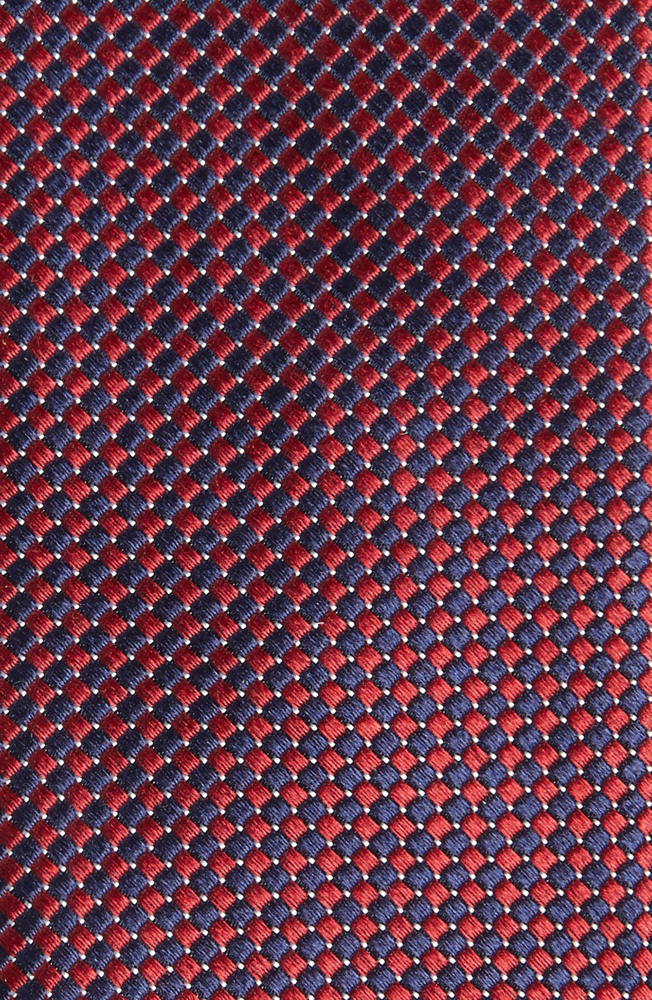Colombo Silk Tie,                             Alternate thumbnail 2, color,                             Red