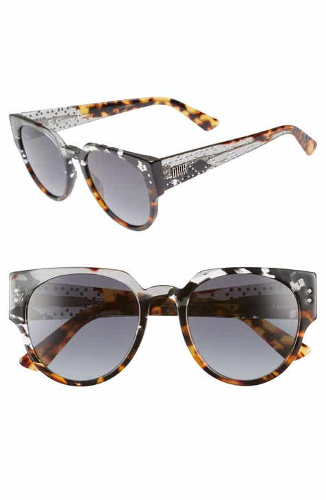 5523605e98 Dior Lady Dior 52mm Cat Eye Sunglasses