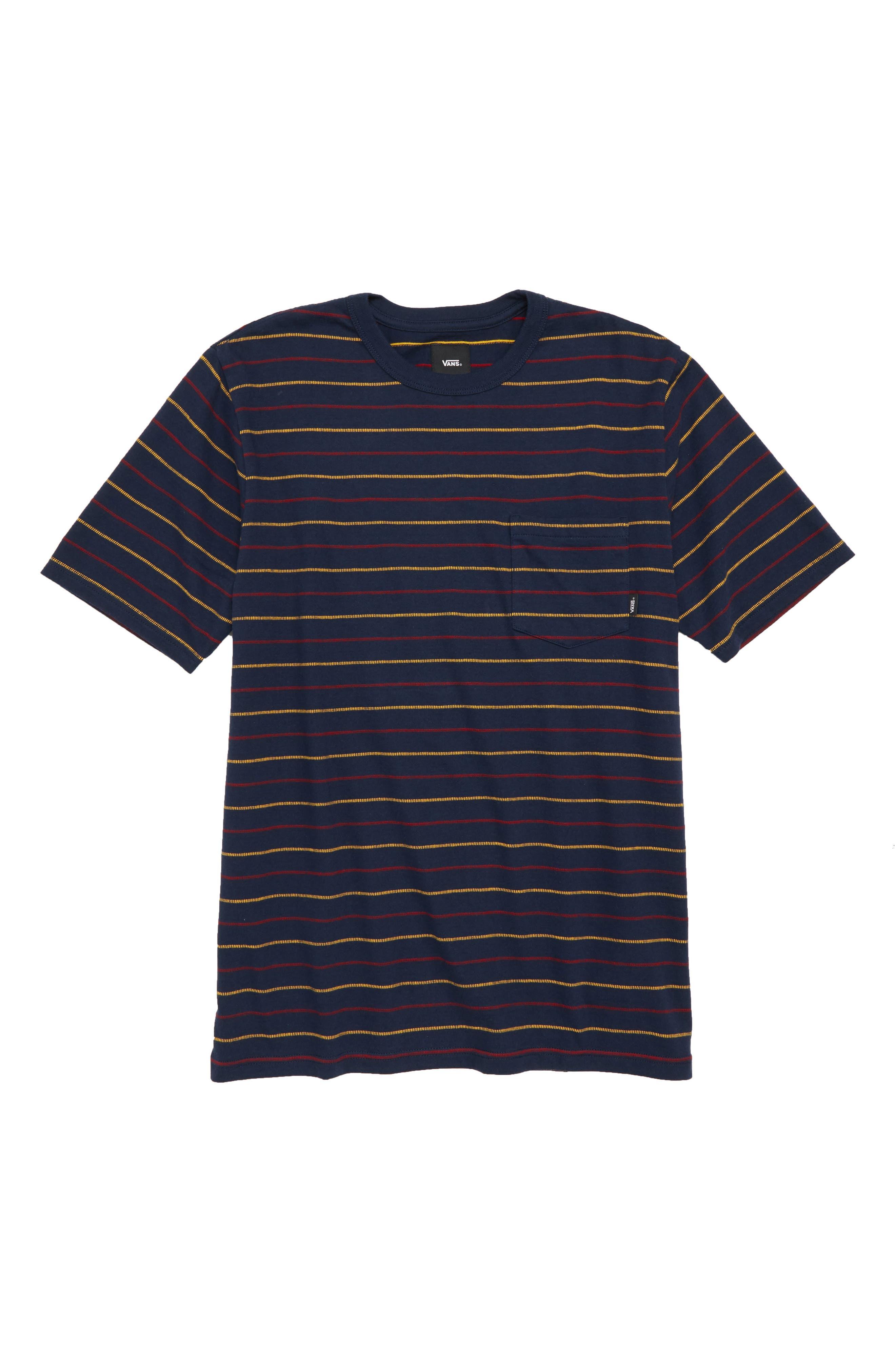 Strikemont III T-Shirt,                         Main,                         color, Dress Blues
