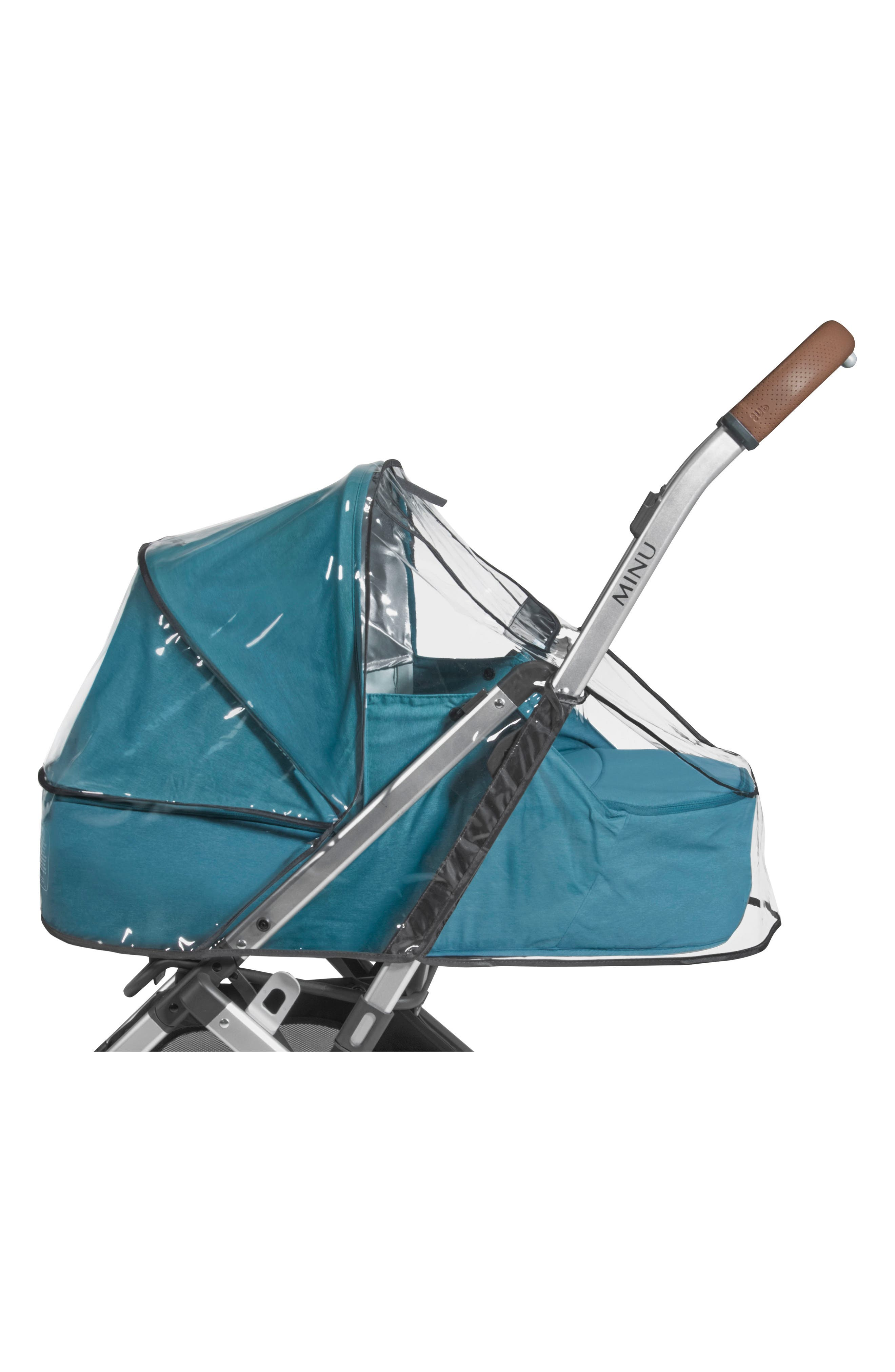 Rain Shield for Minu Stroller,                             Main thumbnail 1, color,                             Clear