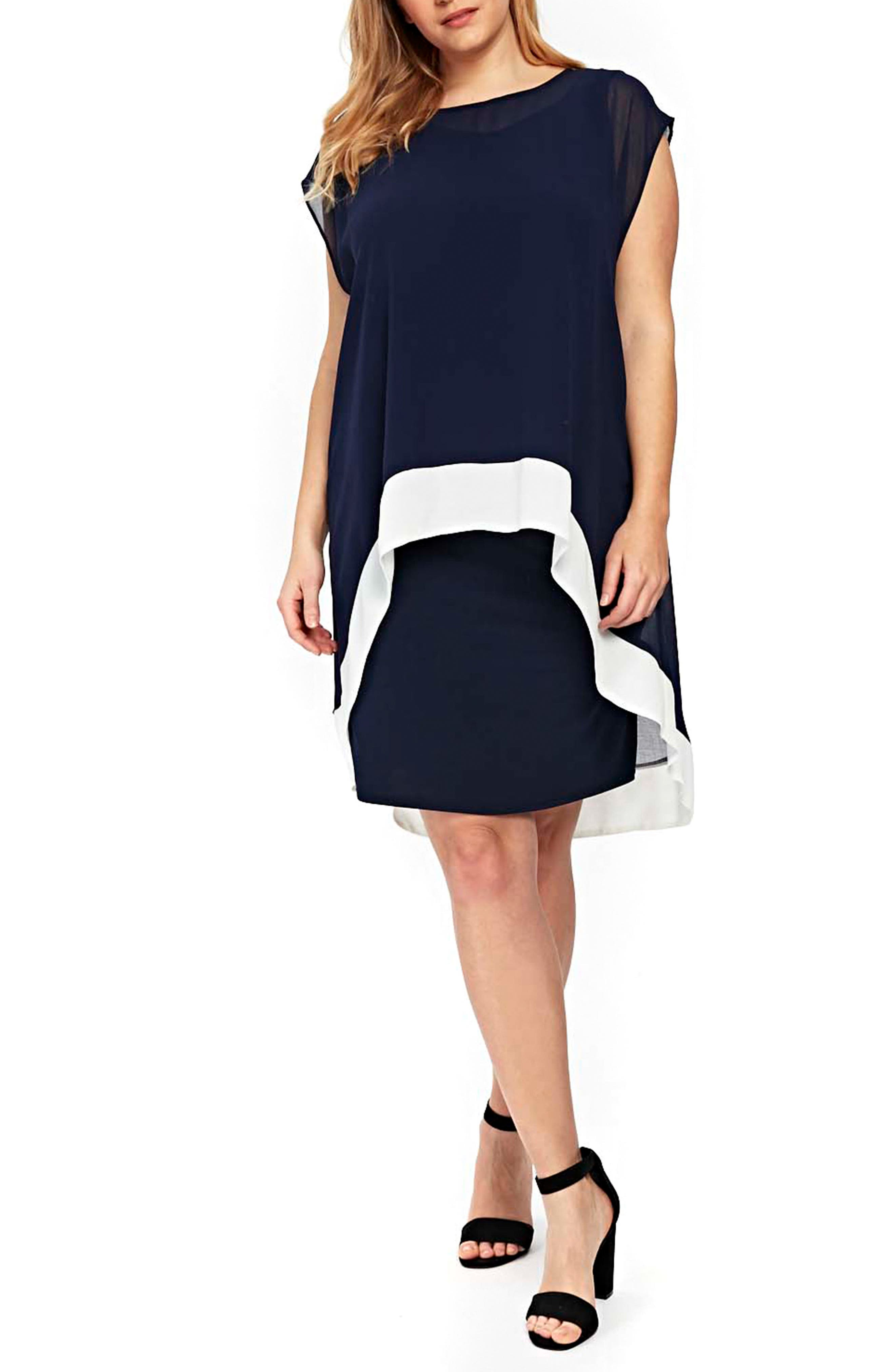 Womens Ity Cold Shoulder Dress EVANS 6n8Xmw