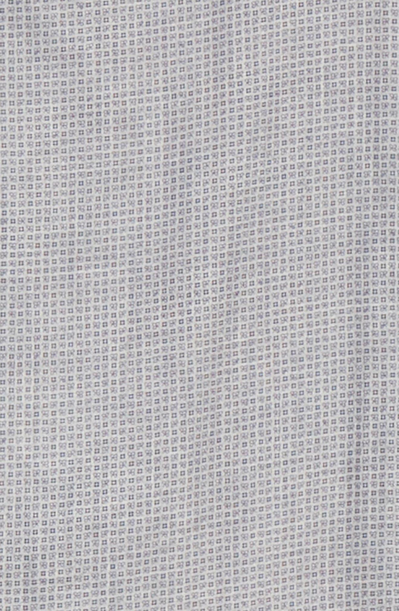 Classic Fit Geometric Dress Shirt,                             Alternate thumbnail 6, color,                             Grey