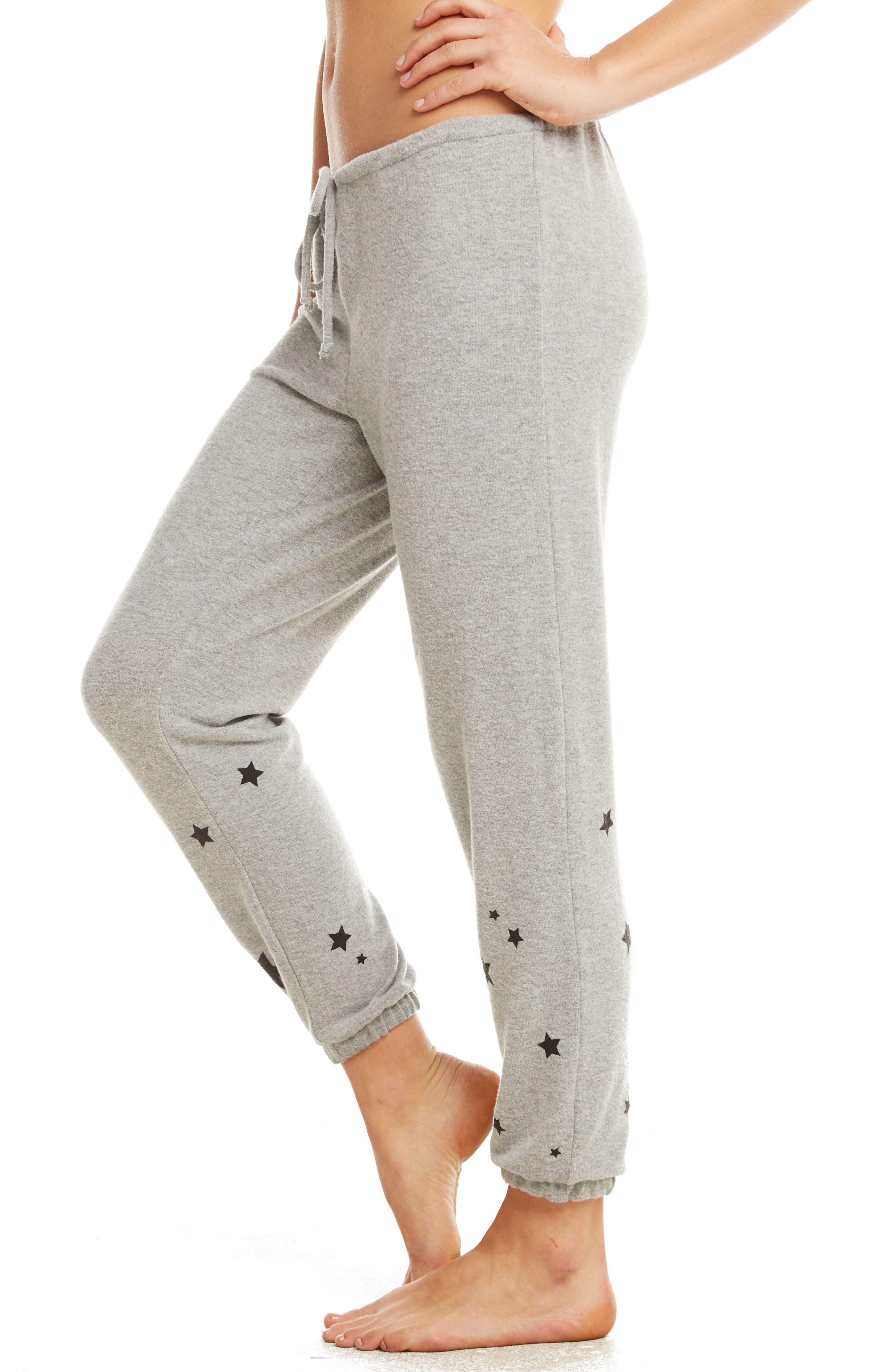 Love Knit Sweatpants,                             Alternate thumbnail 3, color,                             Heather Grey