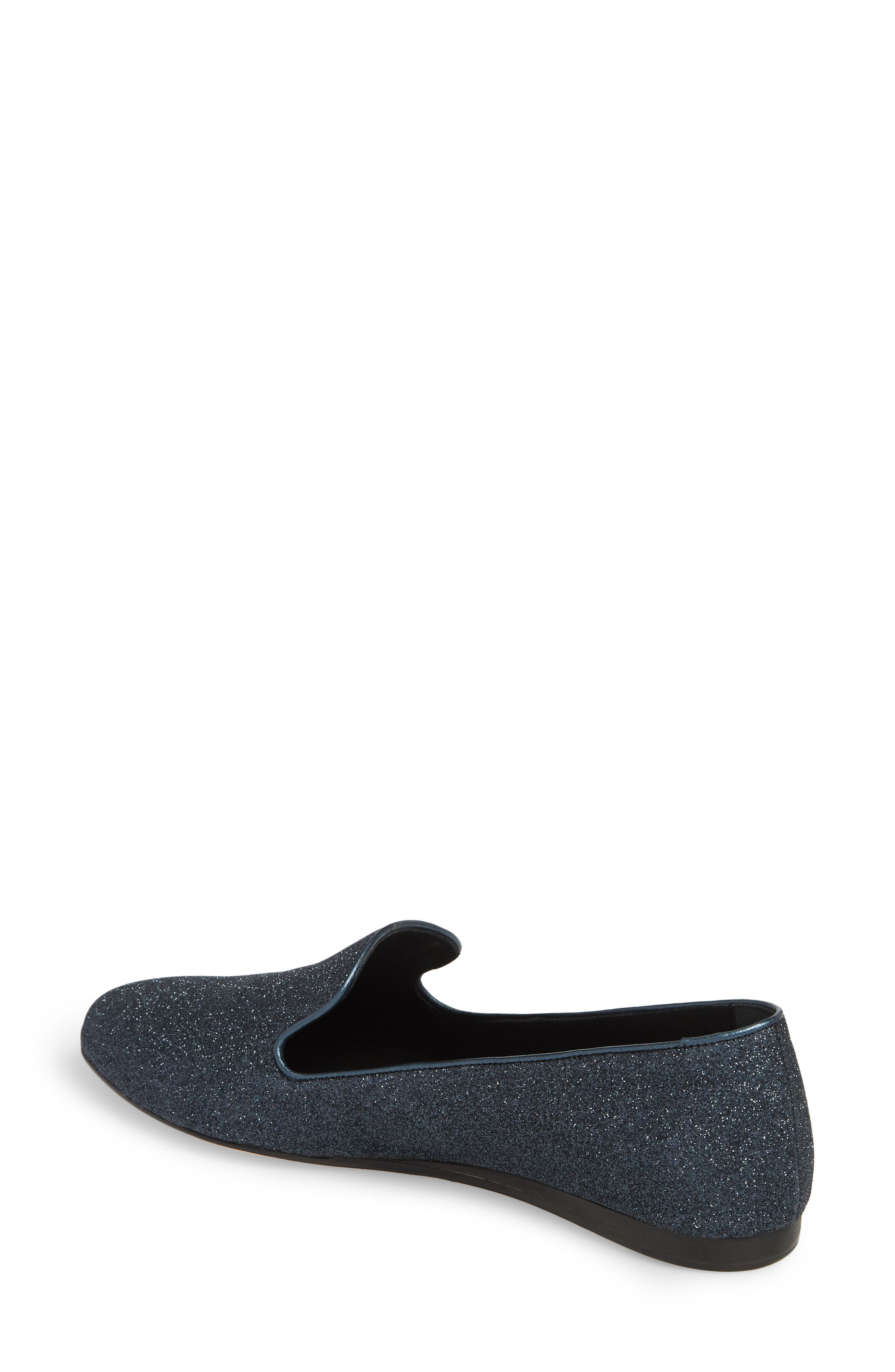 Griffin Pointy Toe Loafer,                             Alternate thumbnail 2, color,                             Midnight