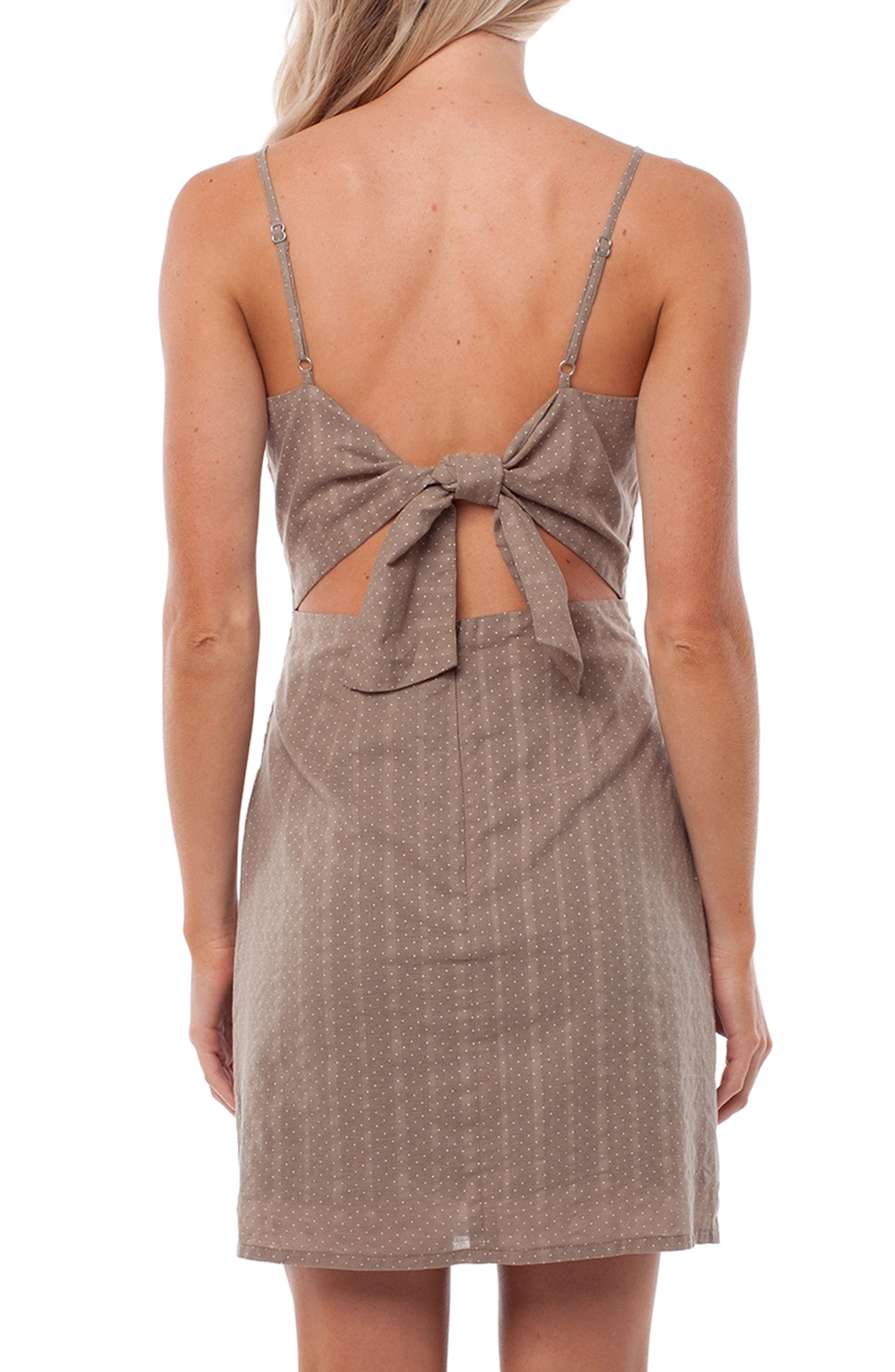 Messina Cover-Up Dress,                             Alternate thumbnail 2, color,                             Chai