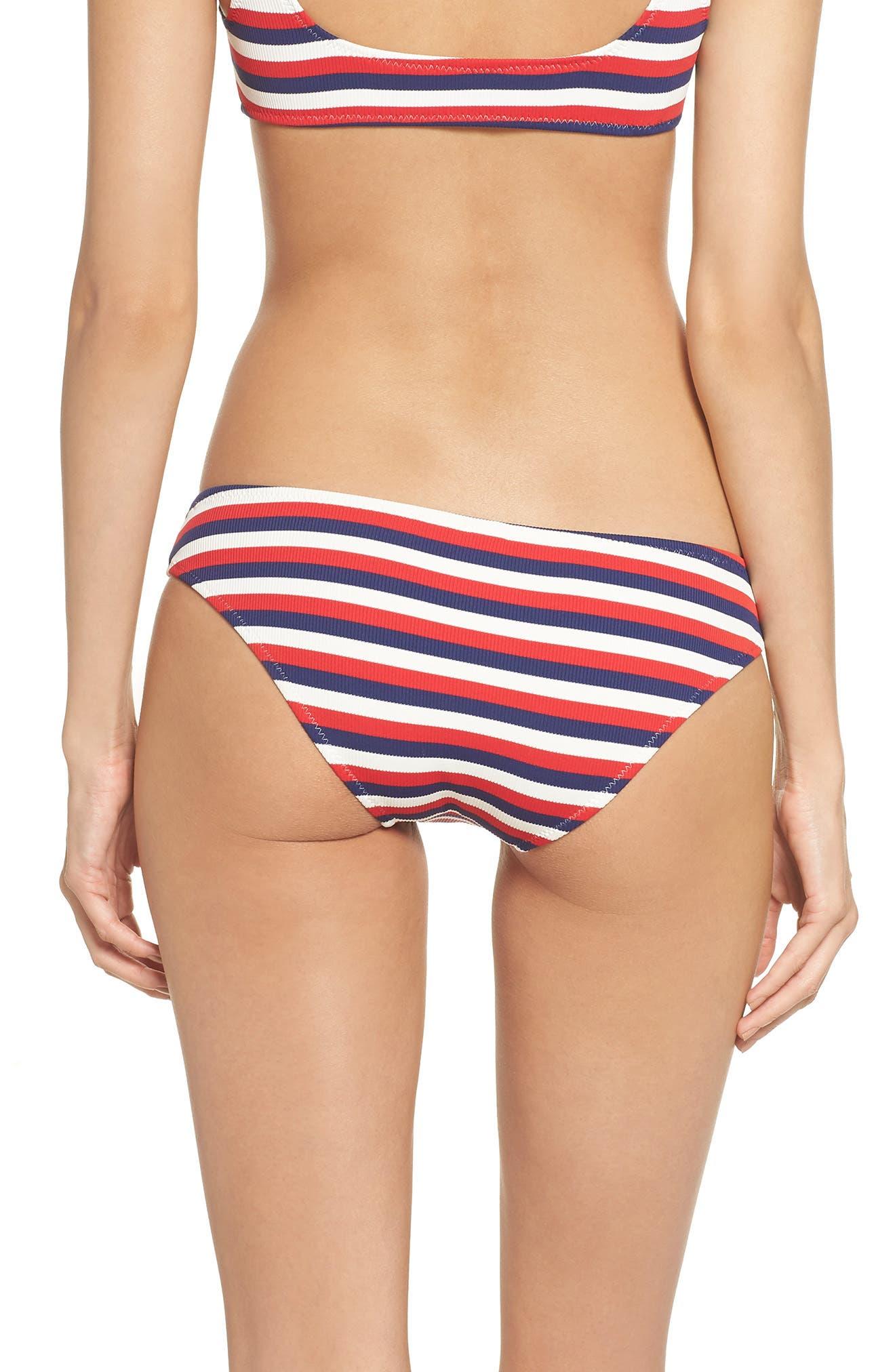 Elle Bikini Bottoms,                             Alternate thumbnail 2, color,                             American Rib