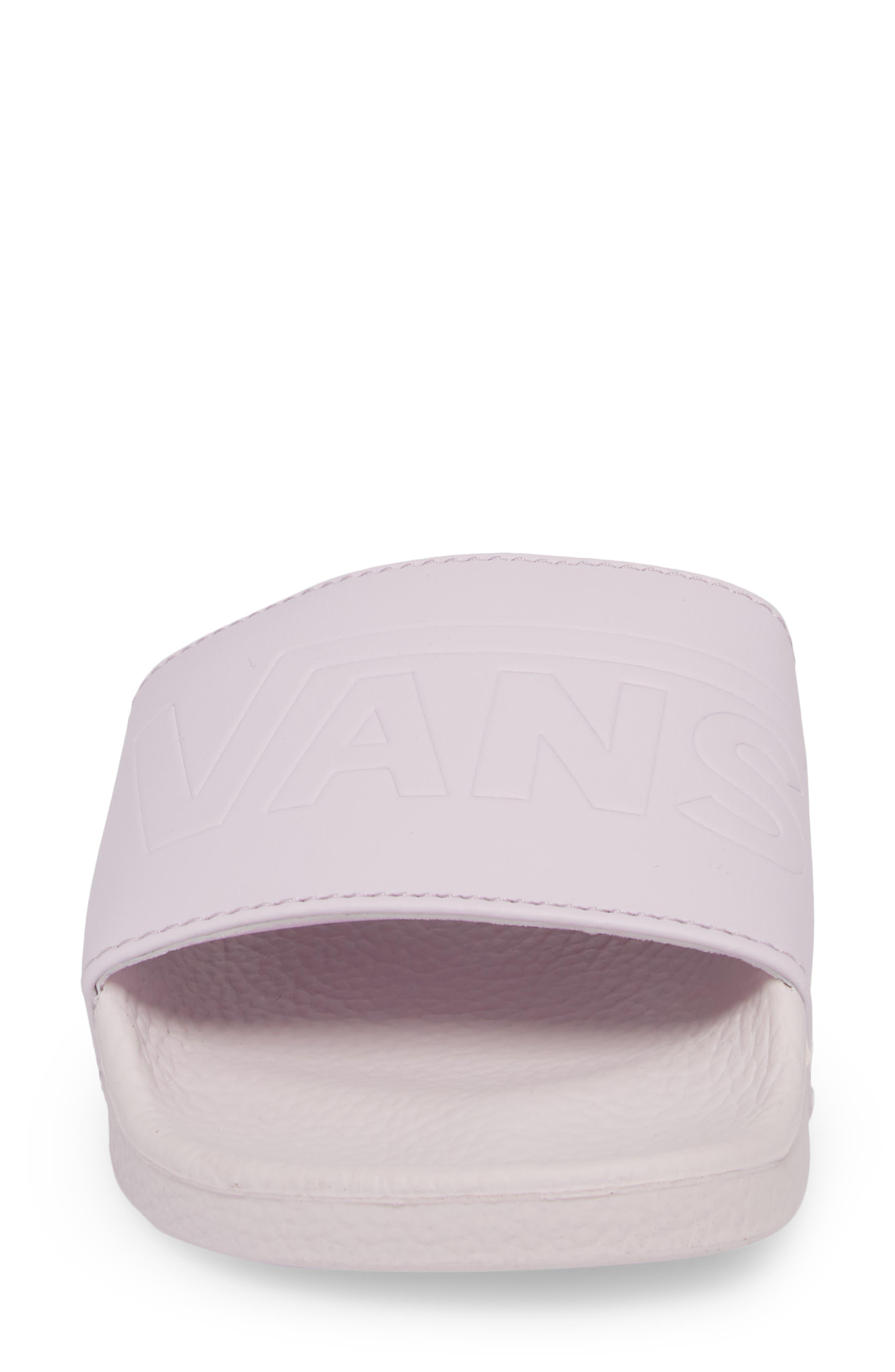 Slide-On Sandal,                             Alternate thumbnail 4, color,                             Lavender Fog