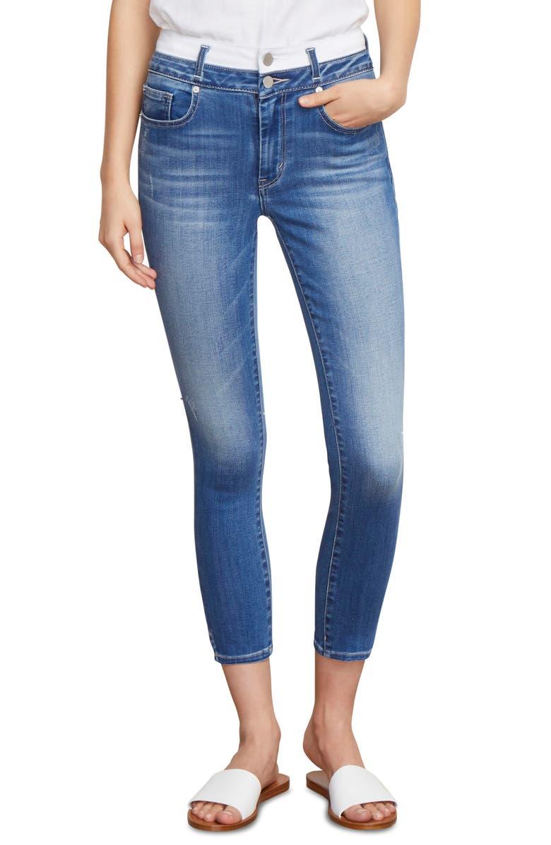 Cressa High Waist Crop Skinny Jeans