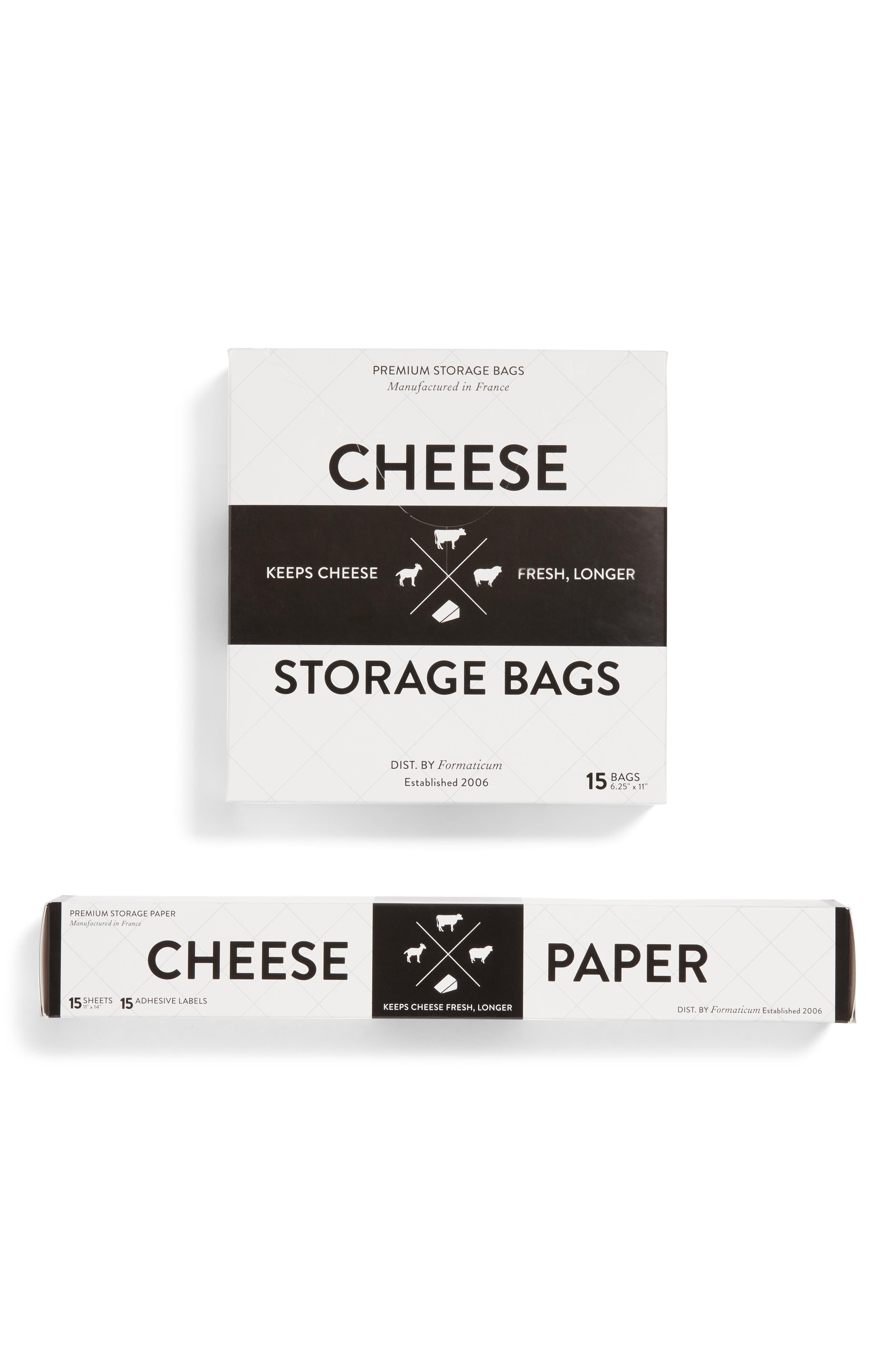 Cheese Storage Kit,                             Alternate thumbnail 3, color,                             White
